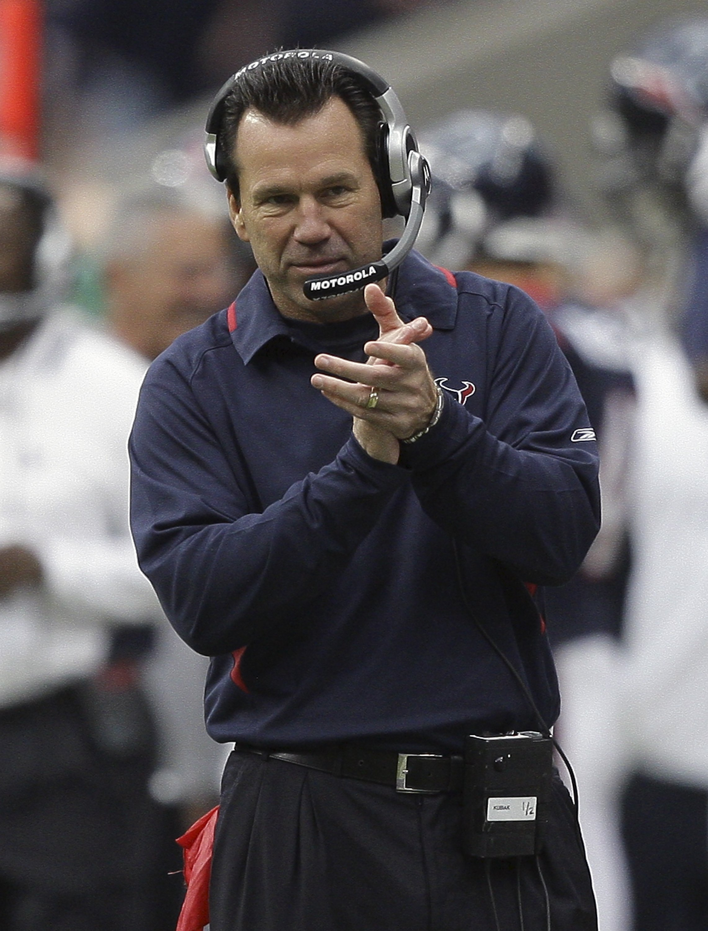 Coach Gary Kubiak is prepared to lead his Texans to their first post-season.