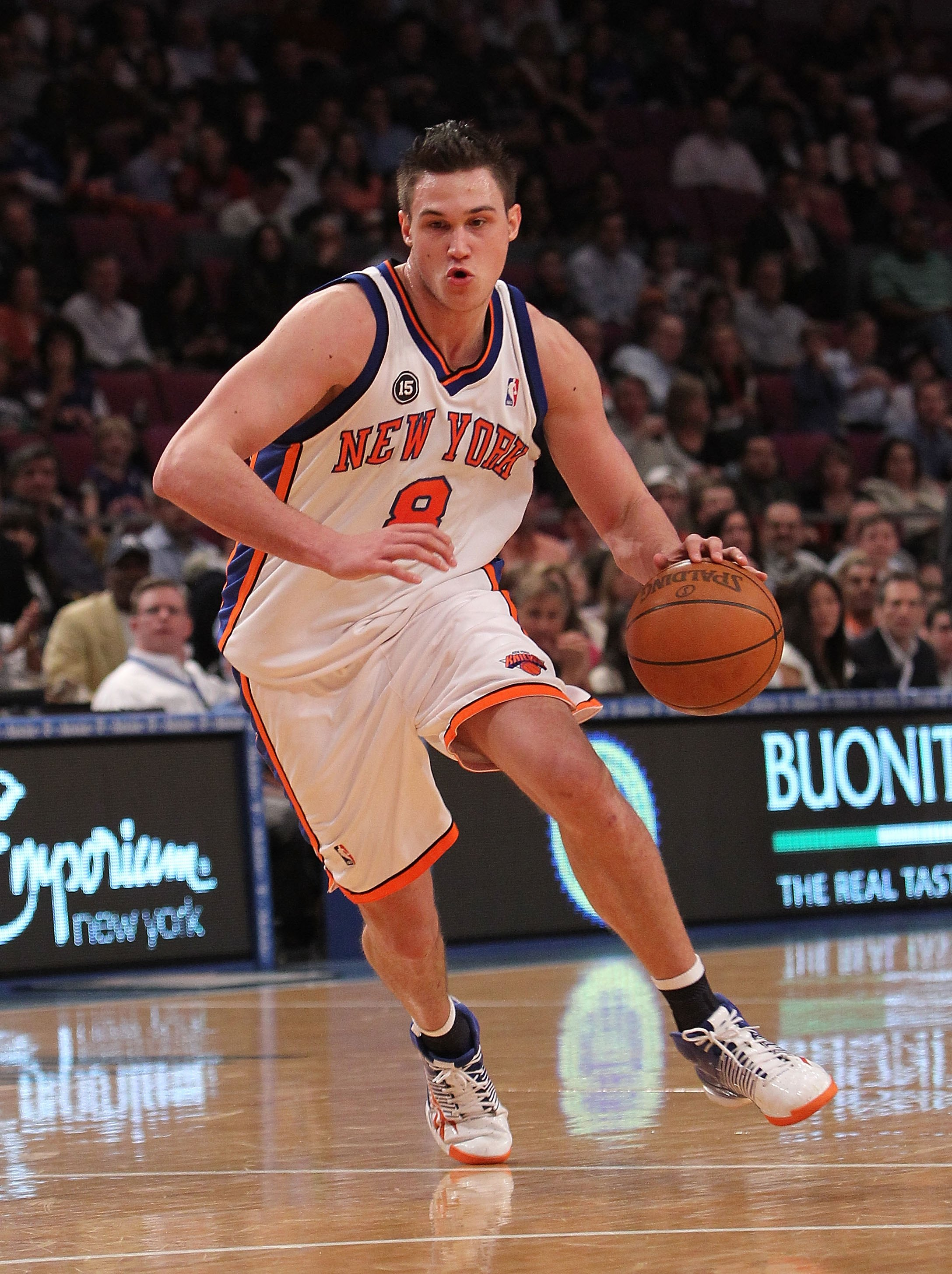 Gallinari will be known as the man who brought Carmelo to New York if the Nuggets go that route.
