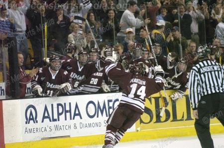 Amherst Scoring vs Maine - Taken from gazettenet.com