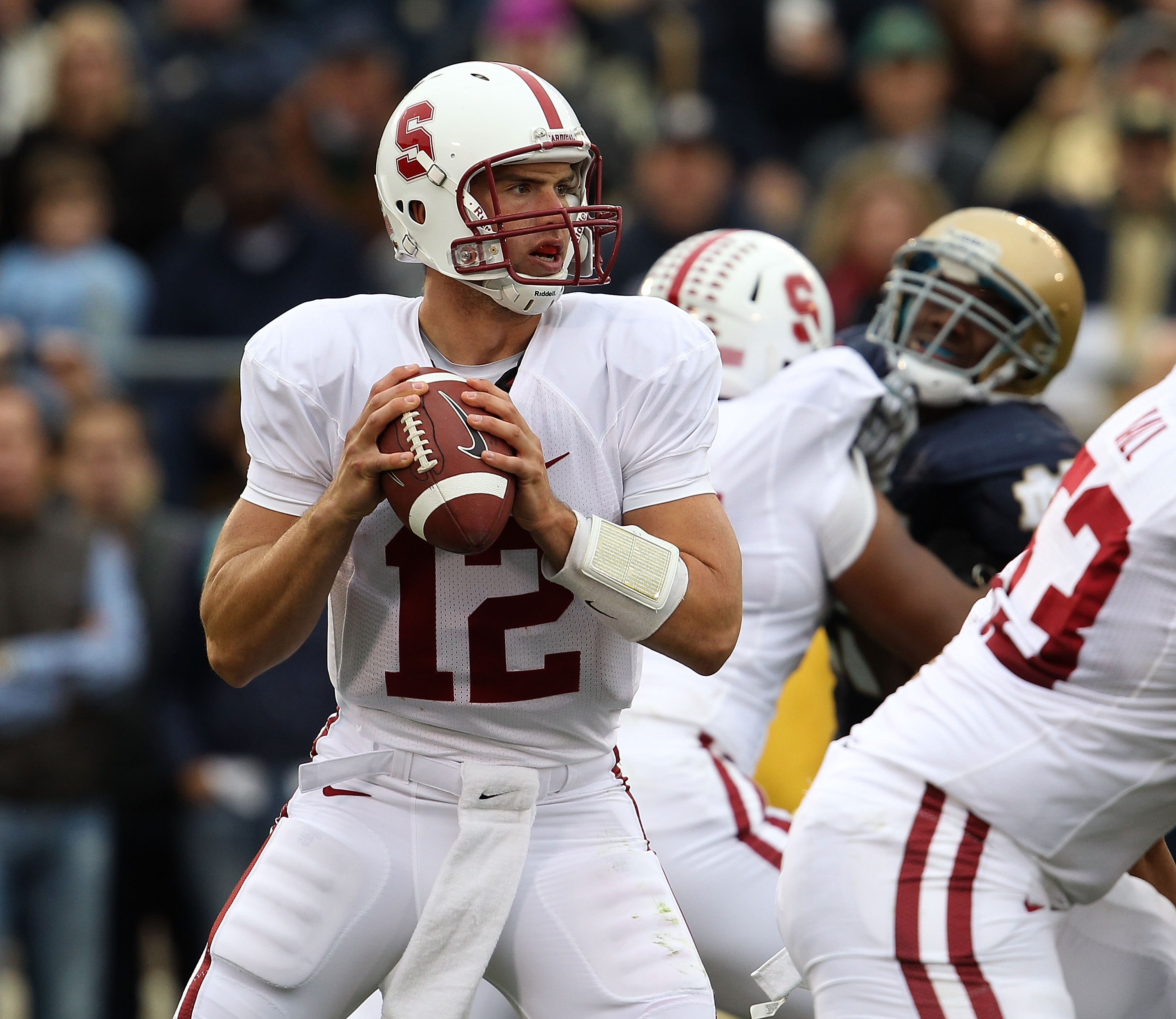 Stanford's Andrew Luck ranks among the best quarterbacks in the country and is a possible No.1 pick in the 2011 NFL Draft.