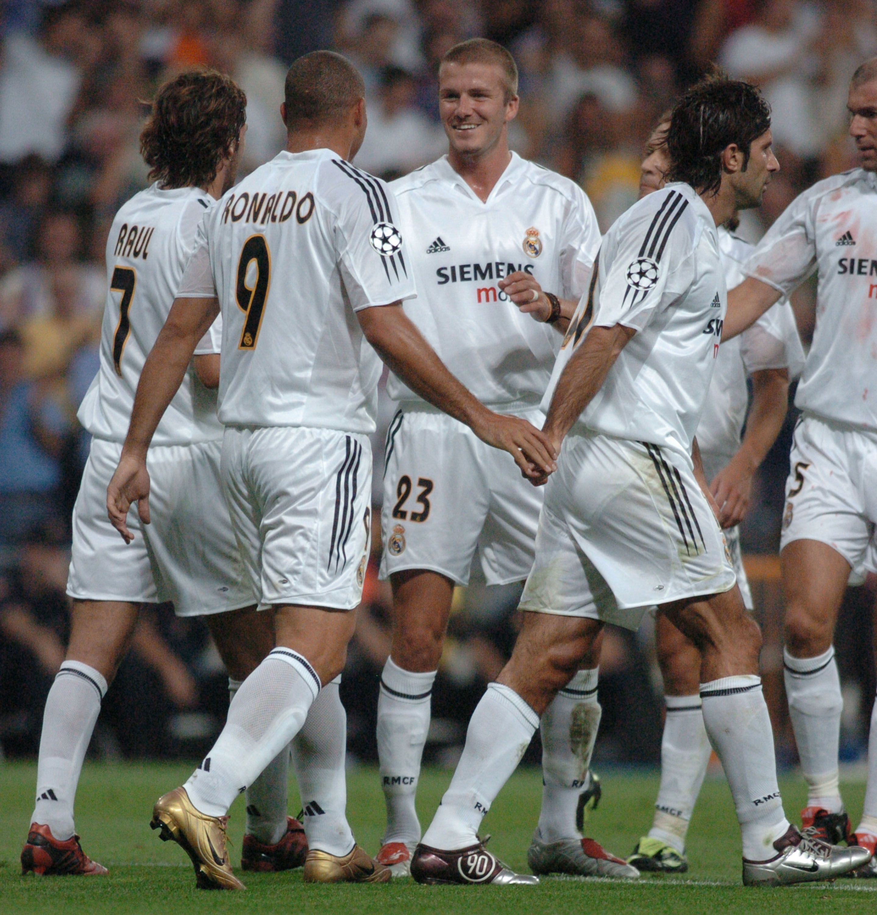 The Real Madrid Galacticos 2004/05