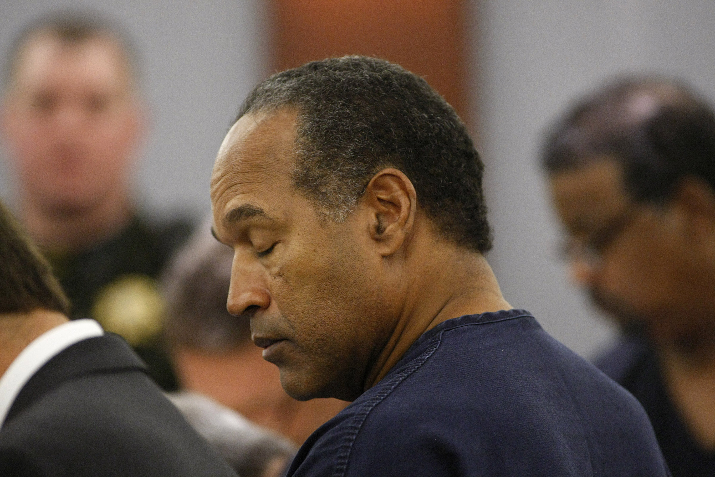 O.J. Simpson epitomizes everything a professional athlete shouldn't do.
