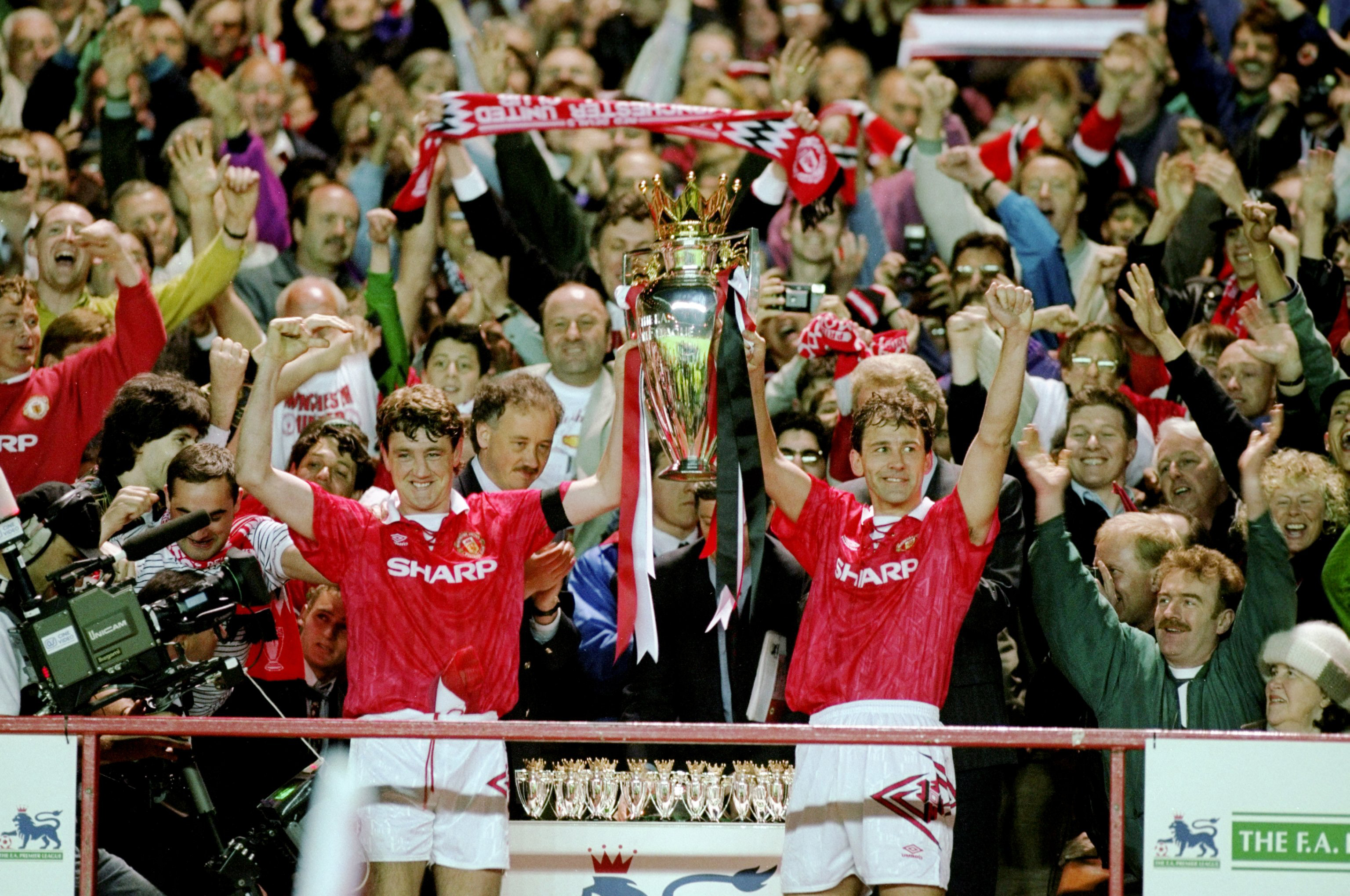 Fergie's first title was in 1992/93