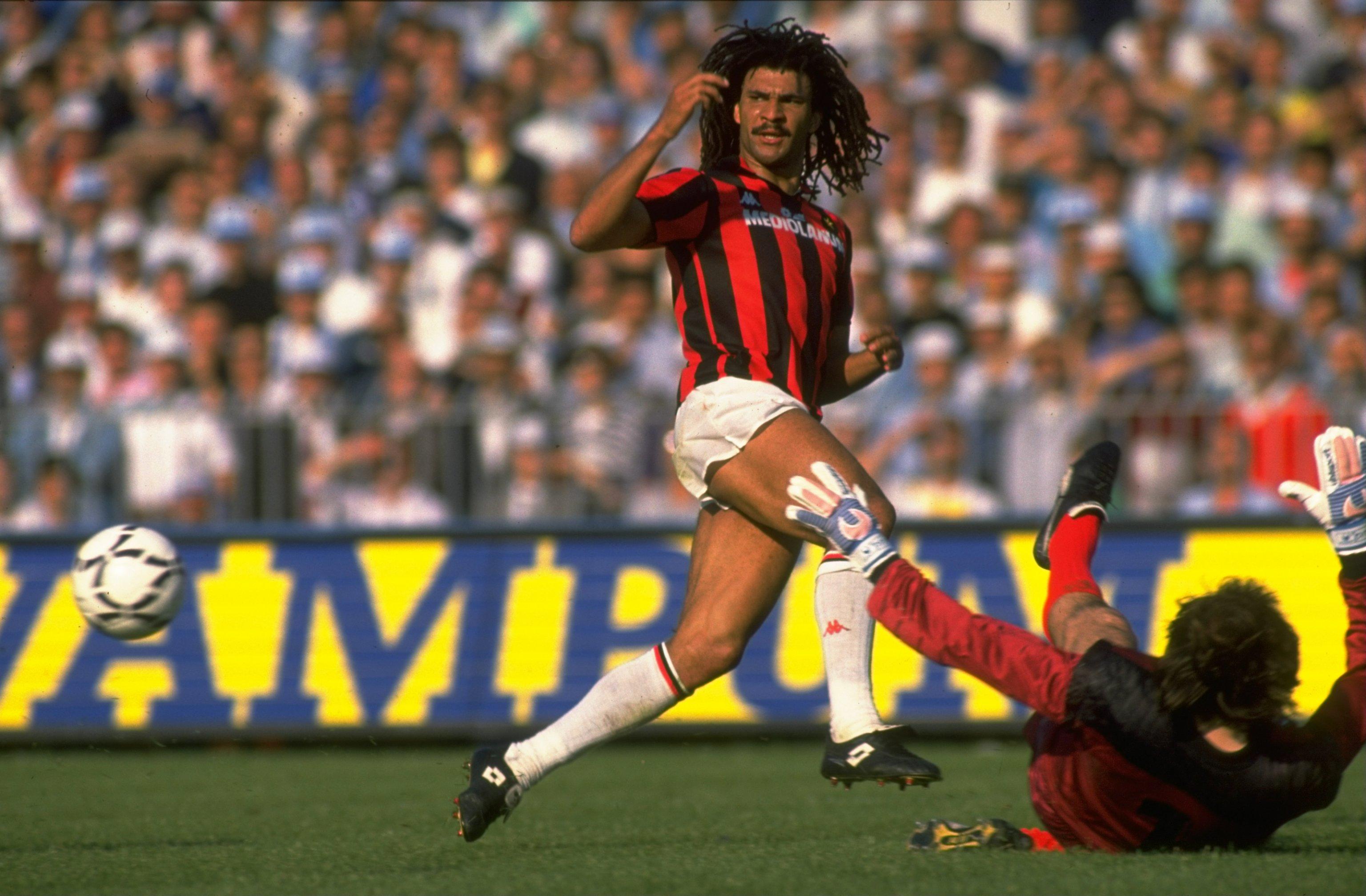 The Dutch trio helped Milan win in 1988.