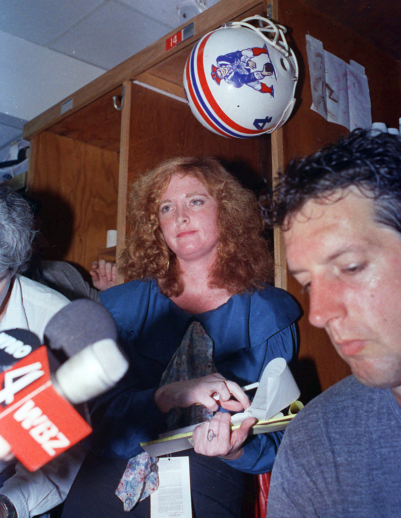 The Patriots even beat the Jets at sexually harassing female reporters.