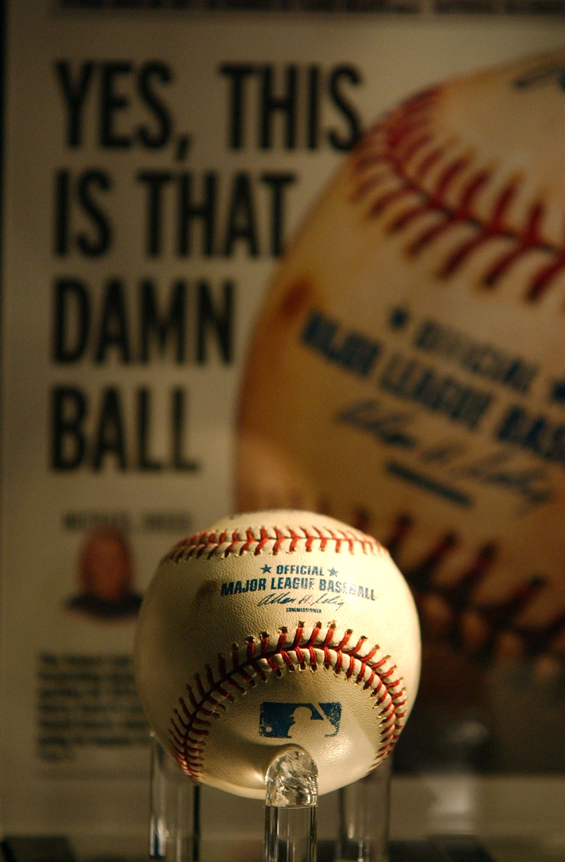 """The infamous """"Bartman Ball"""" which might've also affected the NFL that year."""