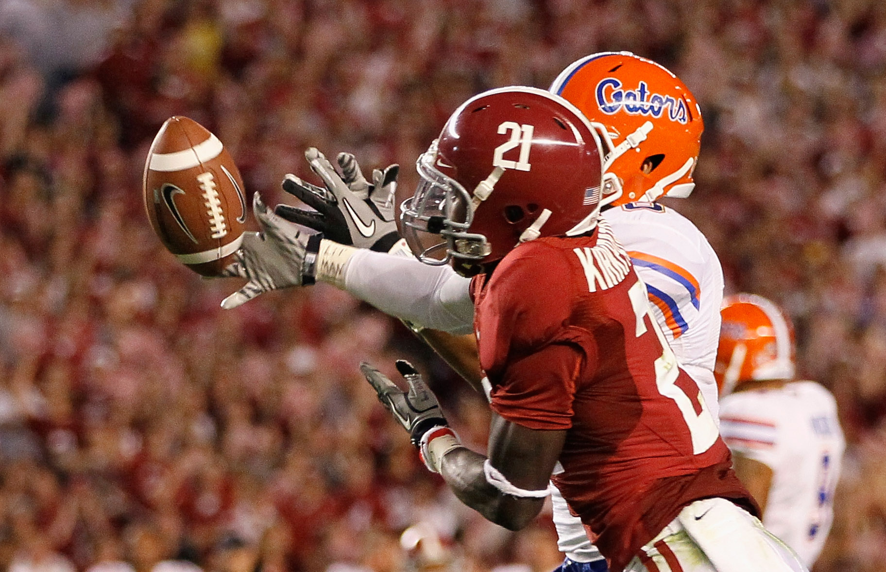 'Bama has a tradition of being tough when protecting the goal line.