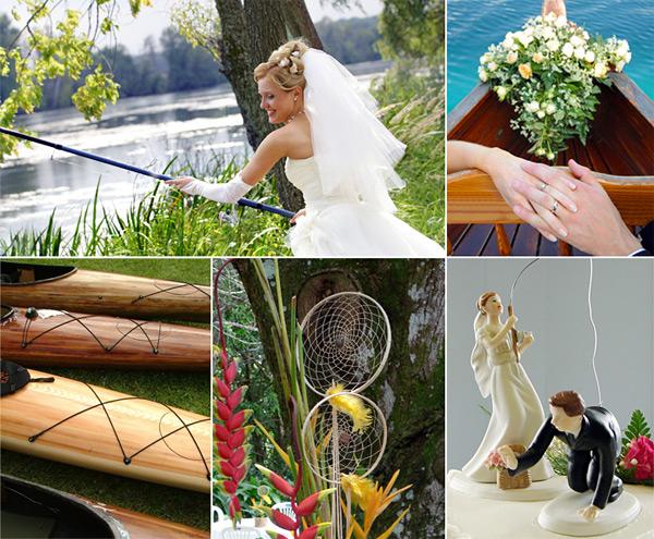 Photo courtesy http://www.favorideas.com/wedding-themes/sports-themes/fishing-theme-wedding/