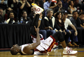 Wade pulls his hamstring in the team's first pre-season game