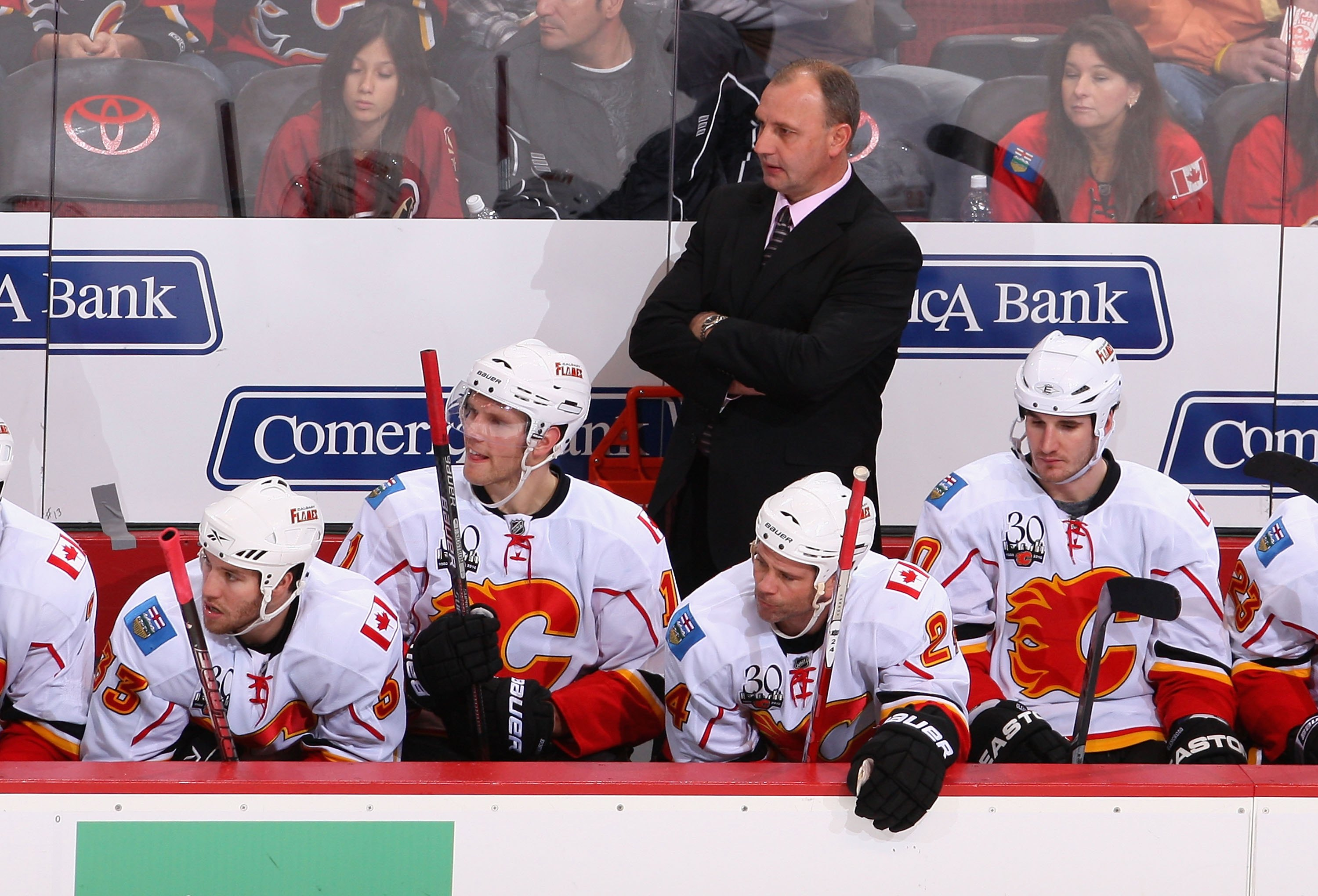 e60040a9ebd Brent Sutter was hired by his brother to be Head Coach of the Calgary  Flames on
