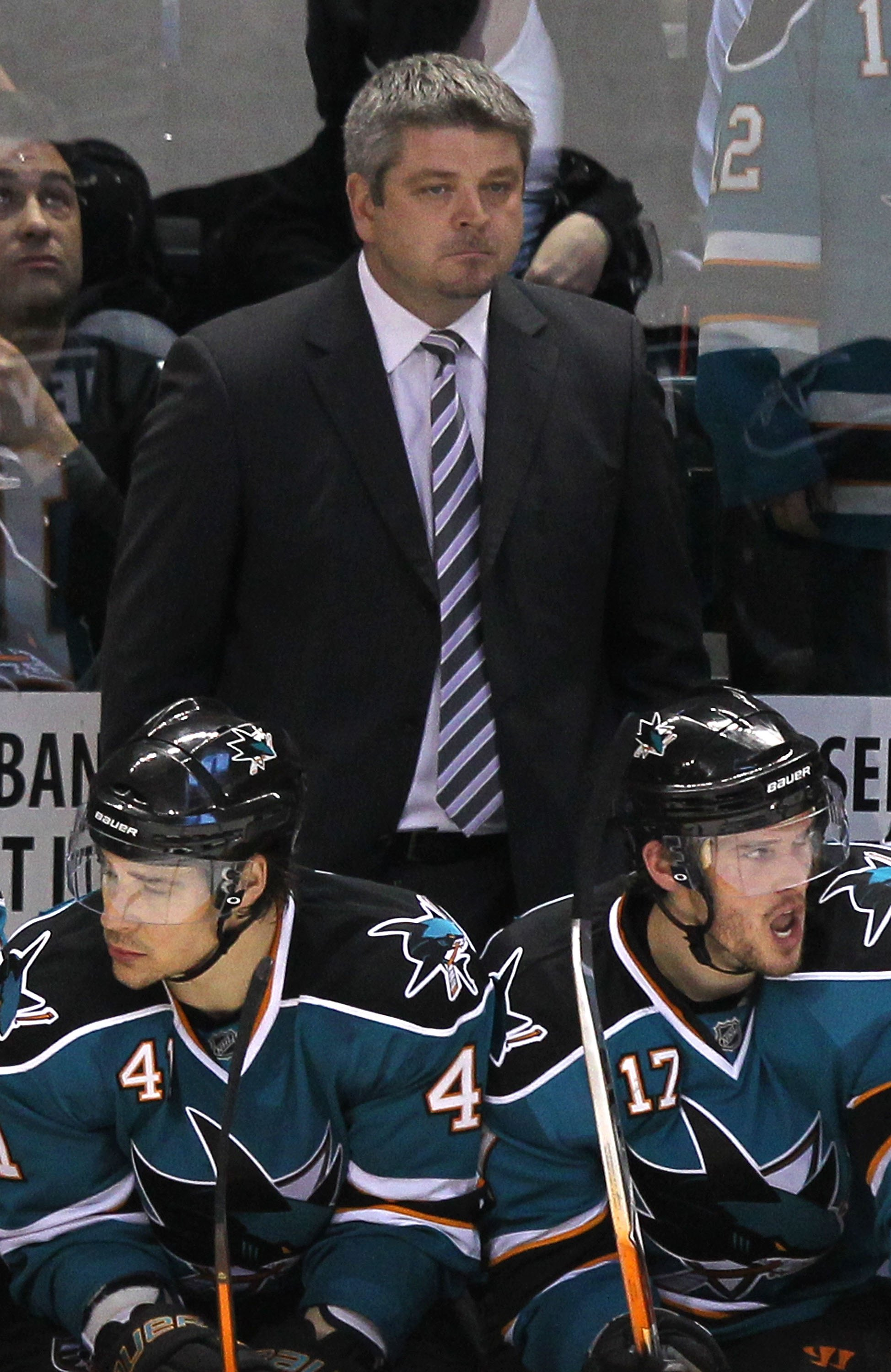 c024f5bf0e5 Todd McLellan was hired as Head Coach of the San Jose Sharks on June 11,