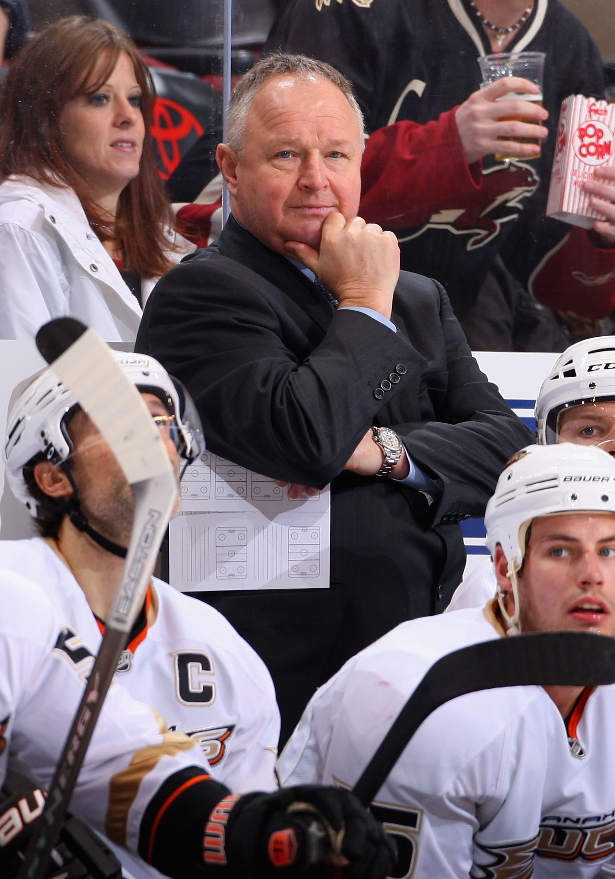fa81e1b2214 Randy Carlyle was named the Head Coach of the Anaheim Ducks on August 1,  2005