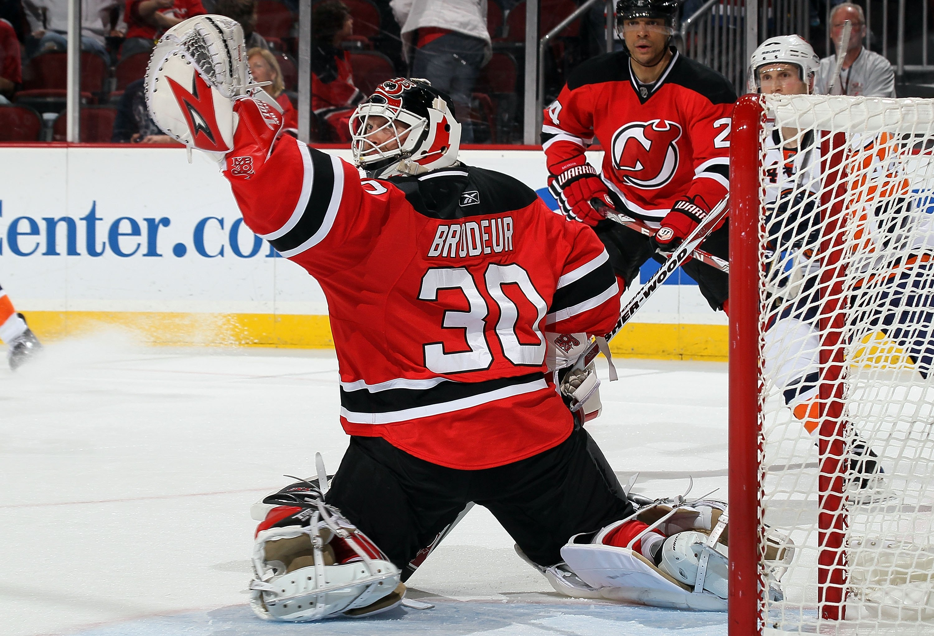 Martin Brodeur holds on a spot on this list.