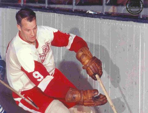 Mr. Hockey.