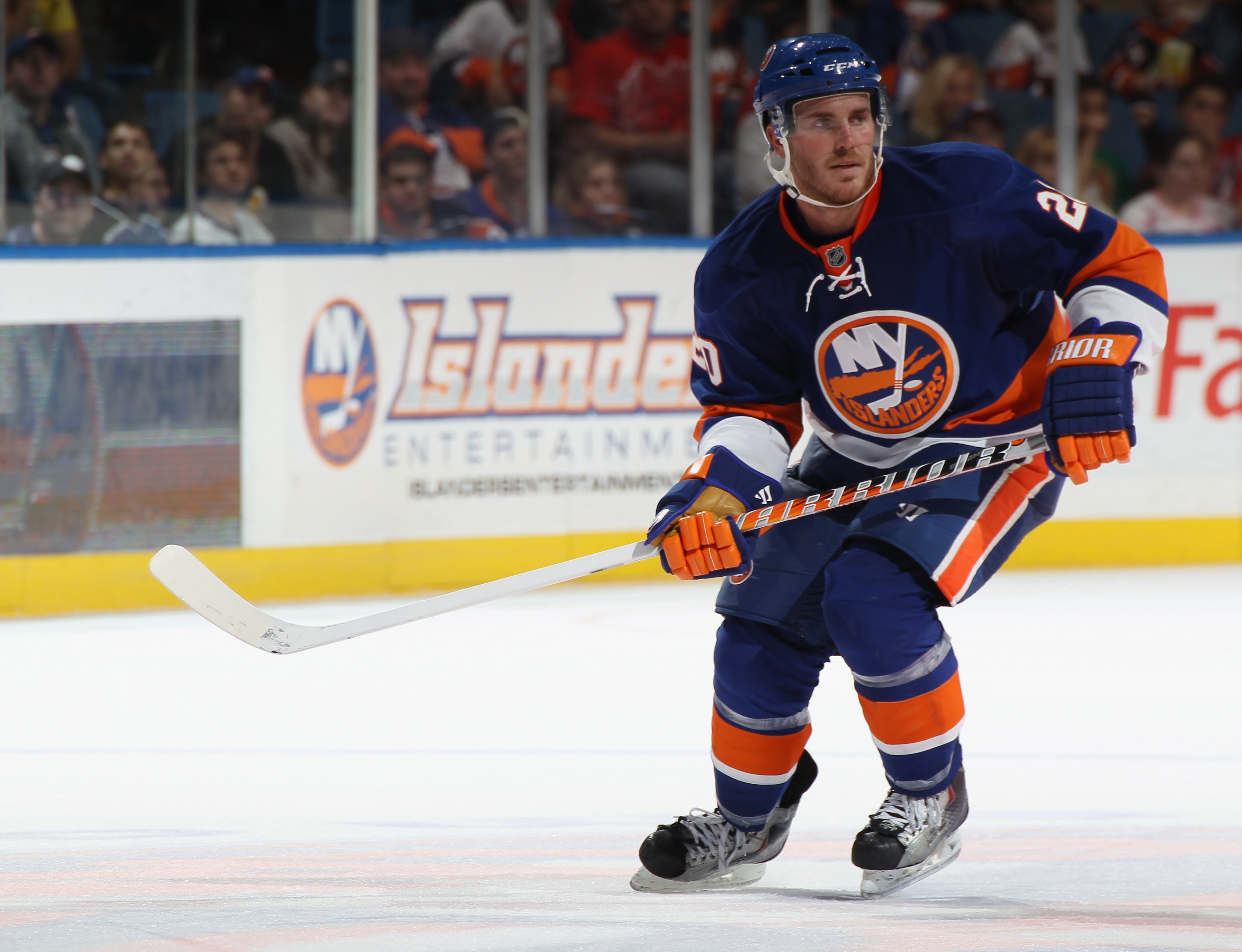 James Wisniewski suits up for the modern-day Islanders.