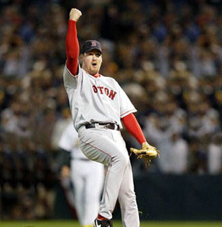 Derek Lowe's appearance from the bullpen in Game 5 of the 2003 LDS saved the day for the Red Sox.