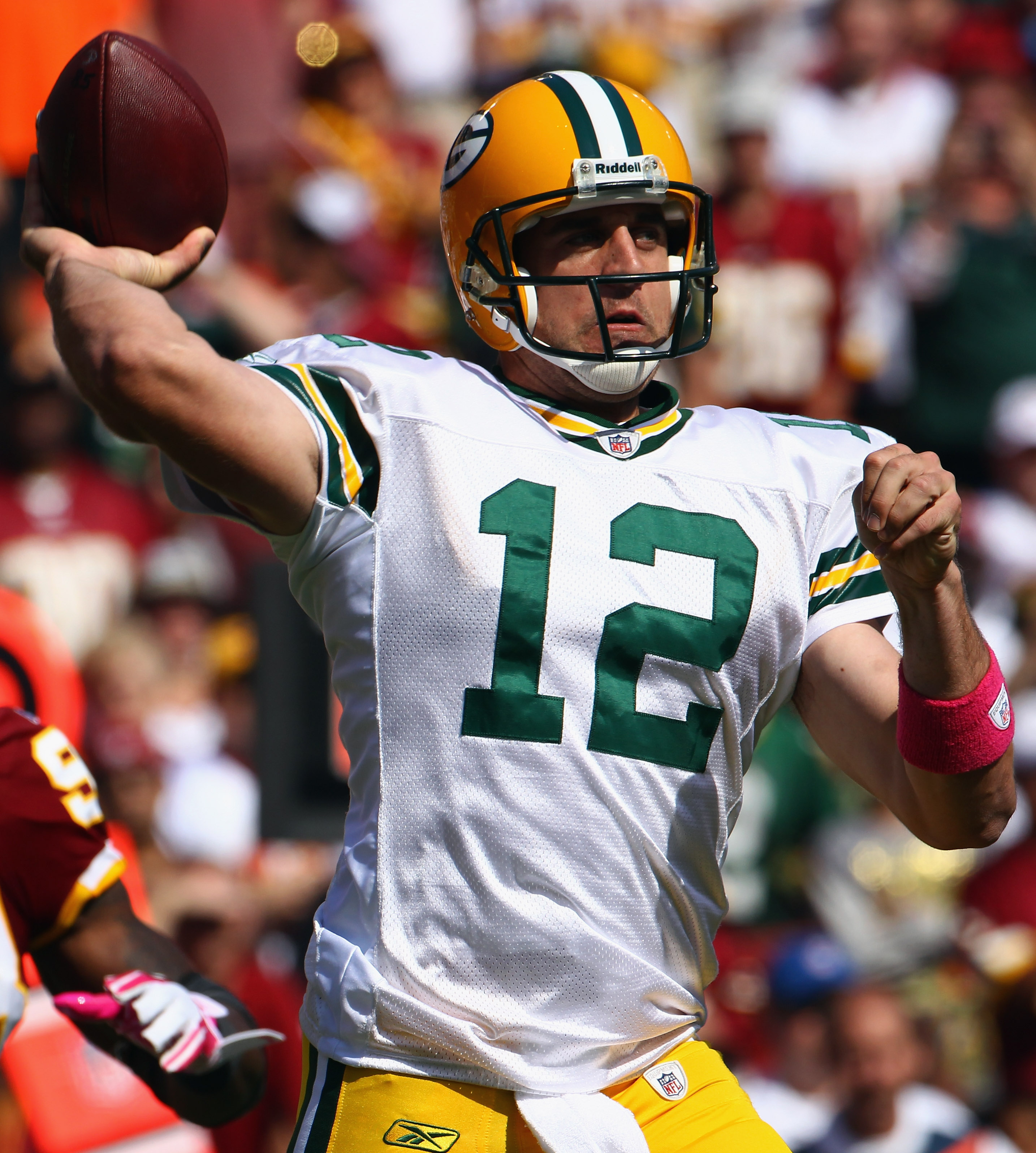 When his career is over, Rodgers may make this uni look better than number 4 did.