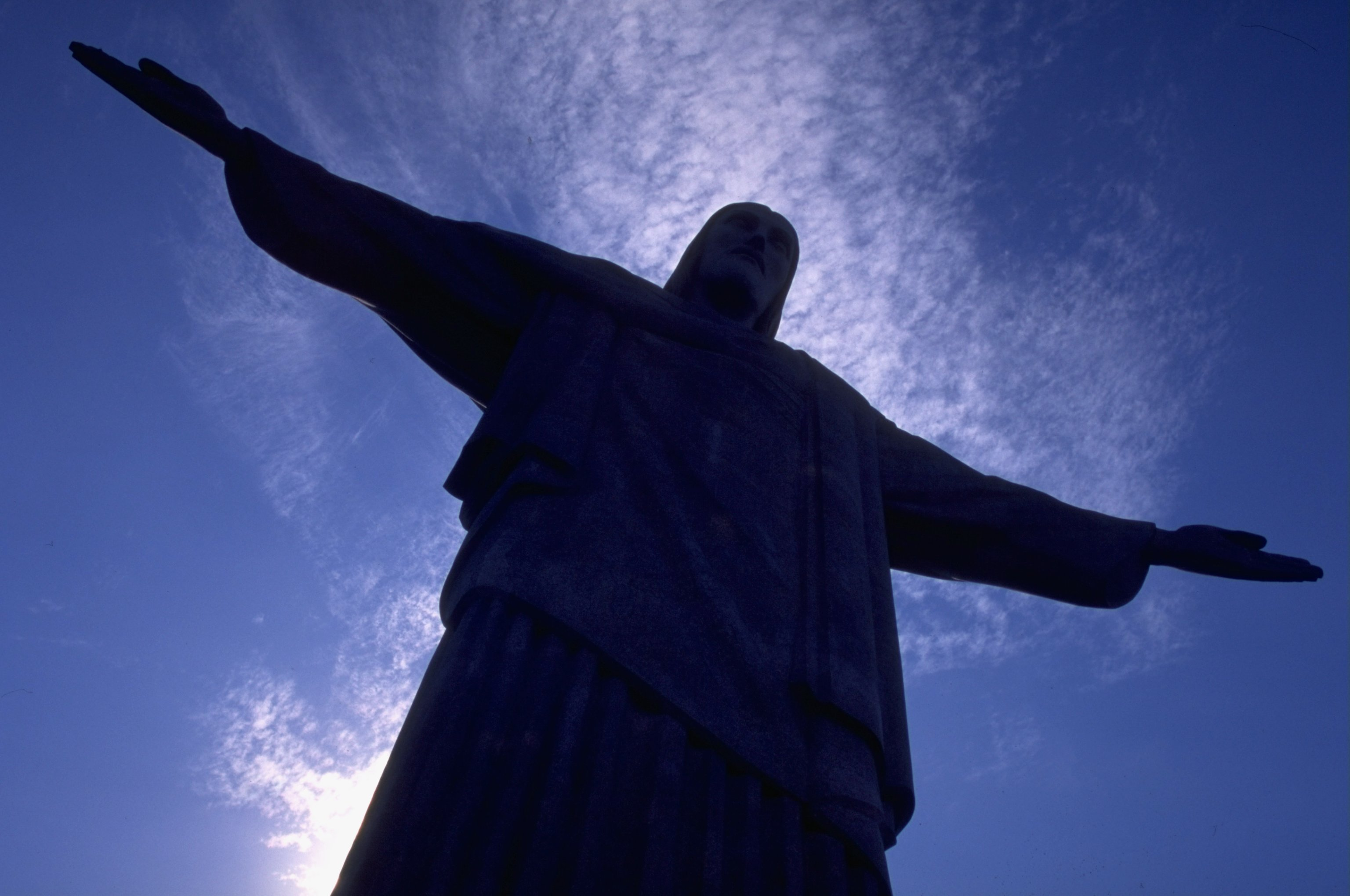 8 Jan 2000:  Statue of Christ the Redeemer during the FIFA Club World Championship in Rio de Janeiro, Brazil. \ Mandatory Credit: Tom Shaw /Allsport