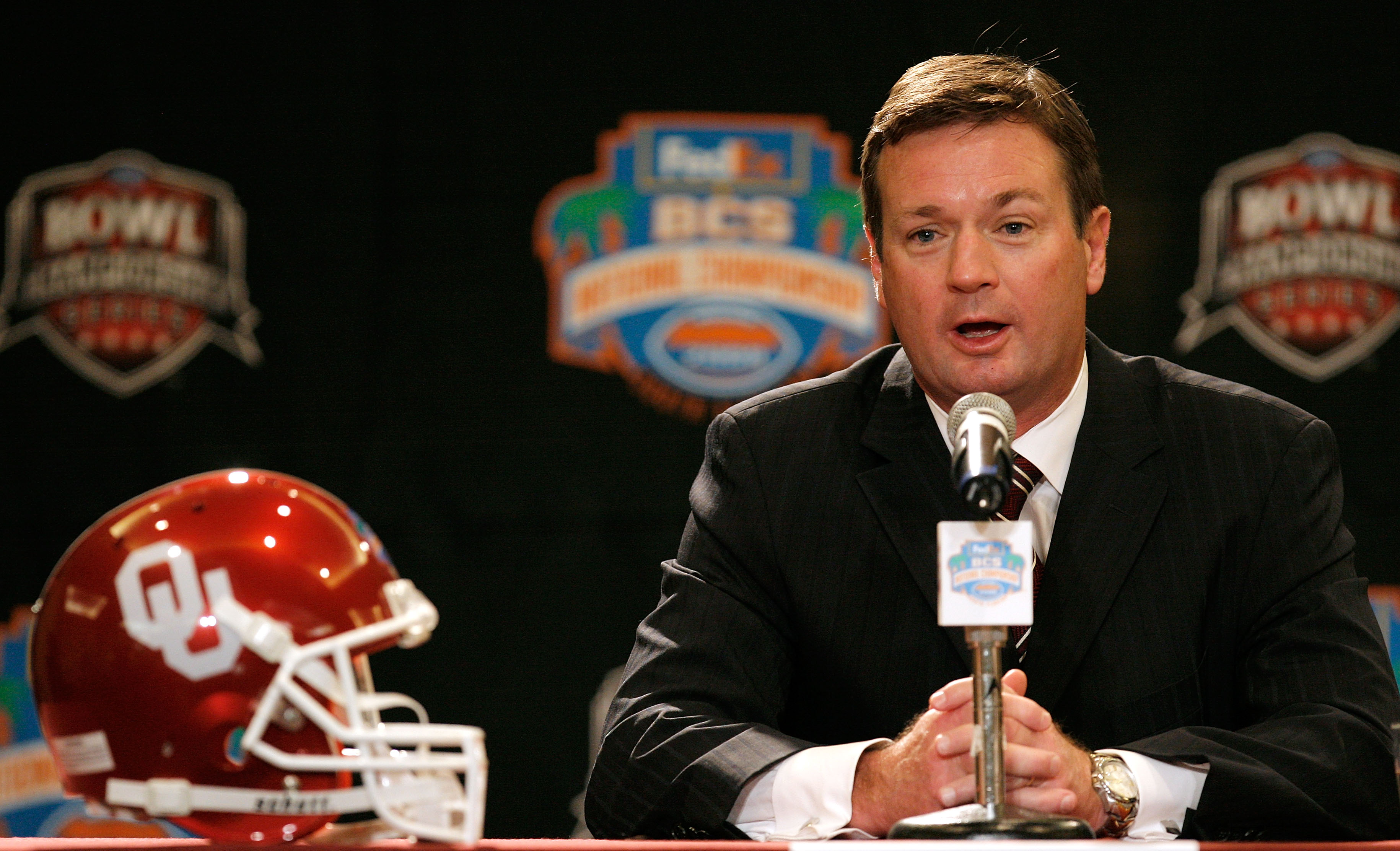 Bob Stoops can make his 5th trip to the BCS Championship Game in 12 years.