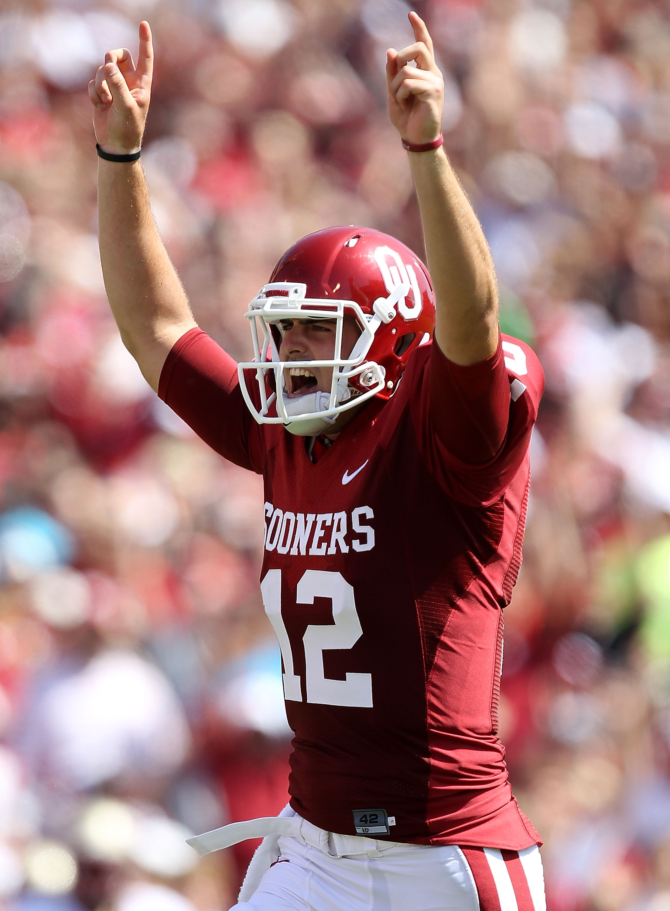 The Sooners are Landry Jones choice for #1.