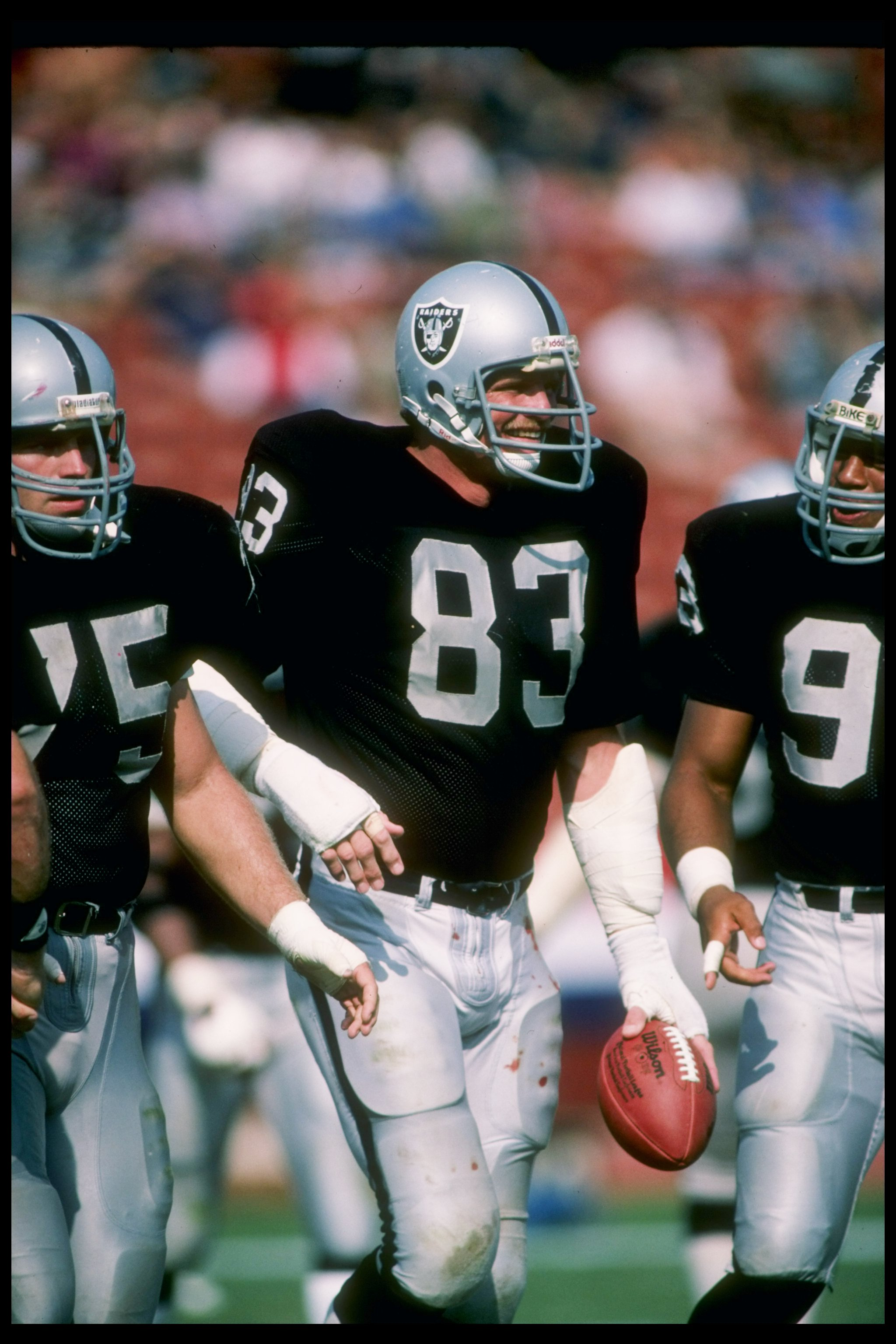 Ted Hendricks Was An Imposing Sight At 6' 7""