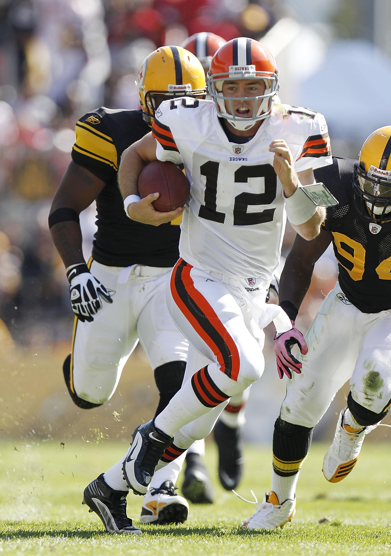Browns quarterback Colt McCoy