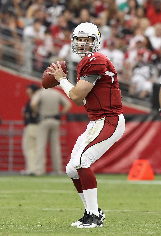 Cardinals quarterback Max Hall