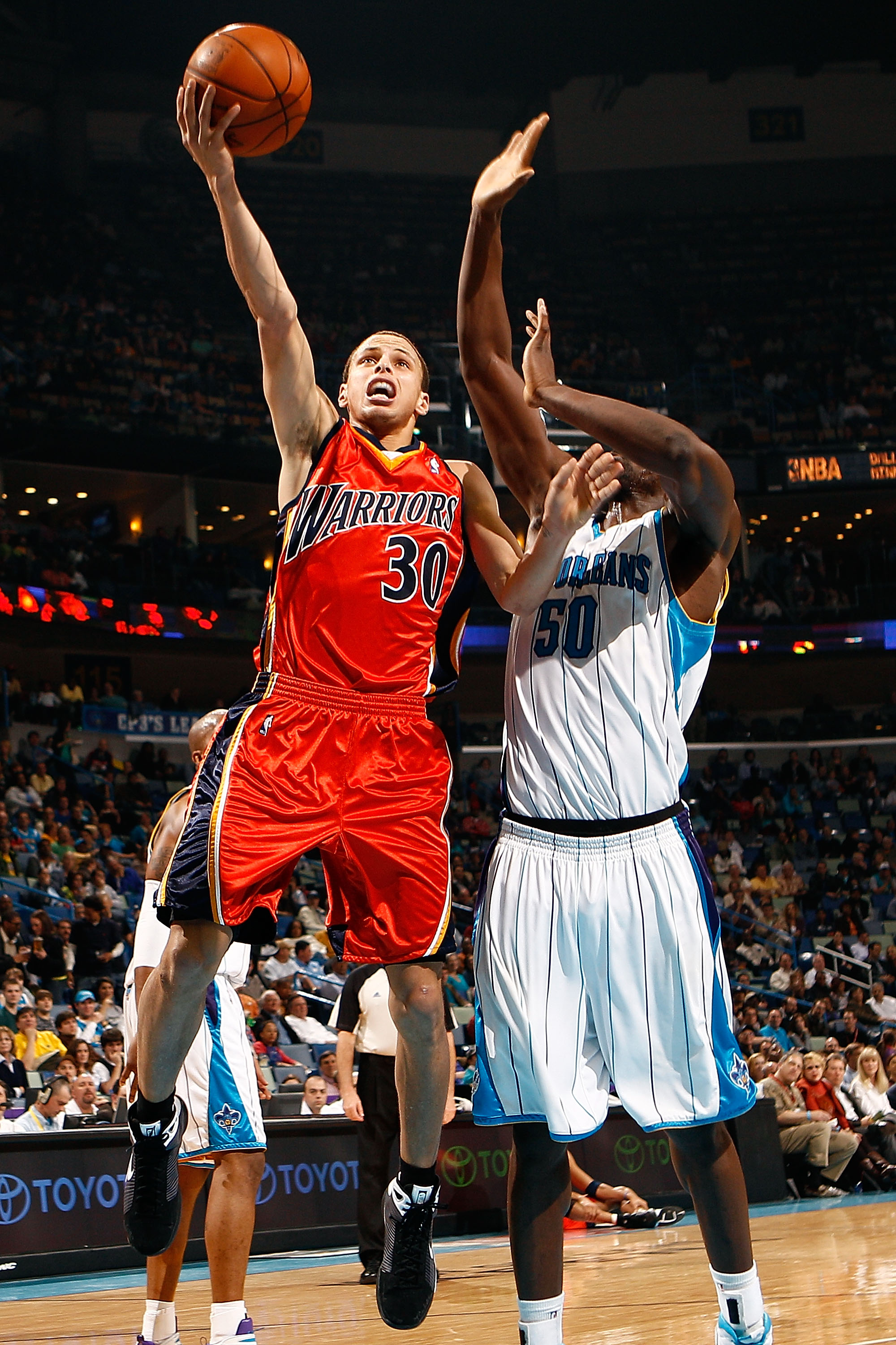 Steph Curry surpassed Ellis as the face of the organization with his play during his rookie season.
