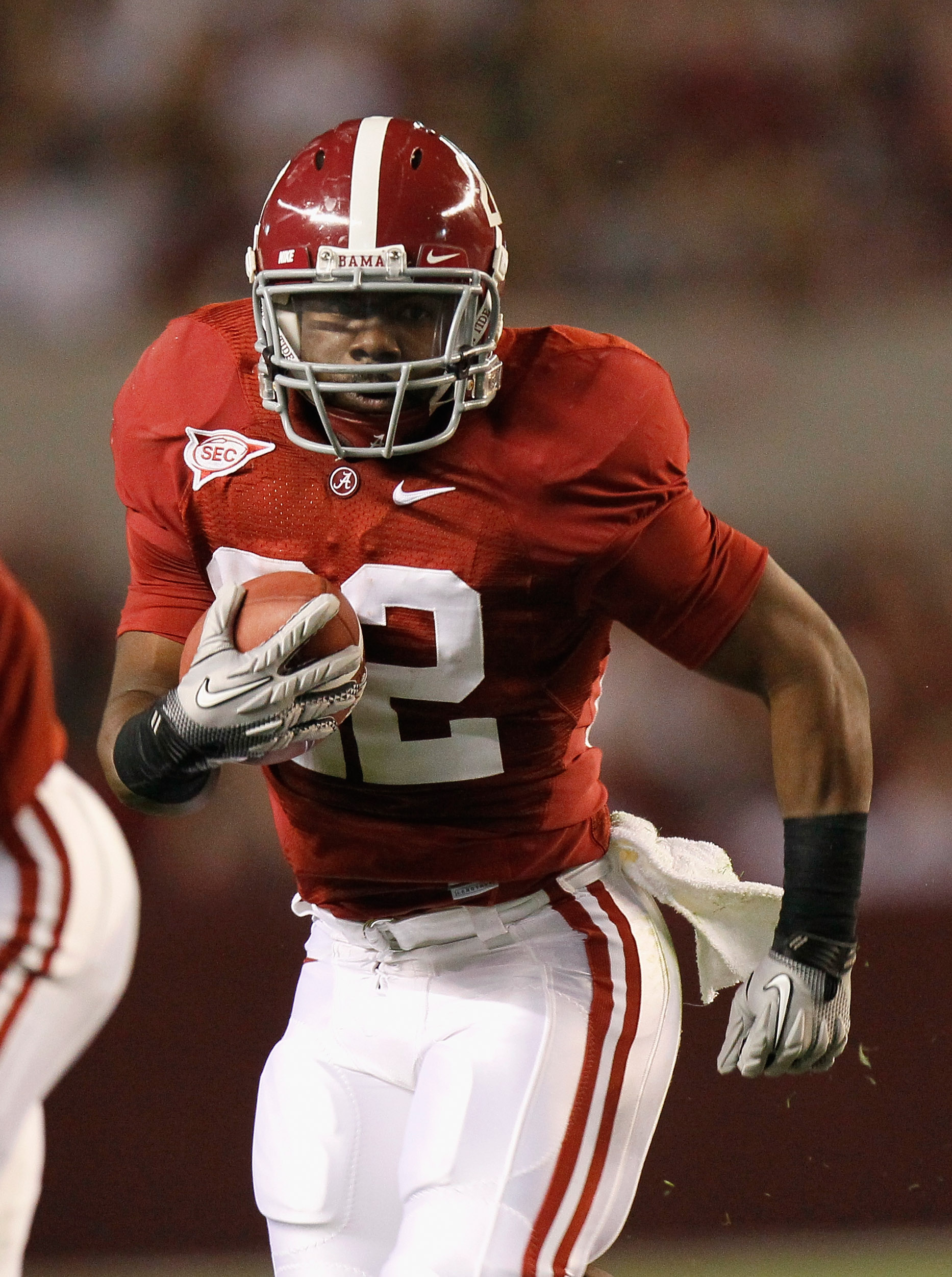 TUSCALOOSA, AL - OCTOBER 16:  Mark Ingram #22 of the Alabama Crimson Tide against the Ole Miss Rebels at Bryant-Denny Stadium on October 16, 2010 in Tuscaloosa, Alabama.  (Photo by Kevin C. Cox/Getty Images)