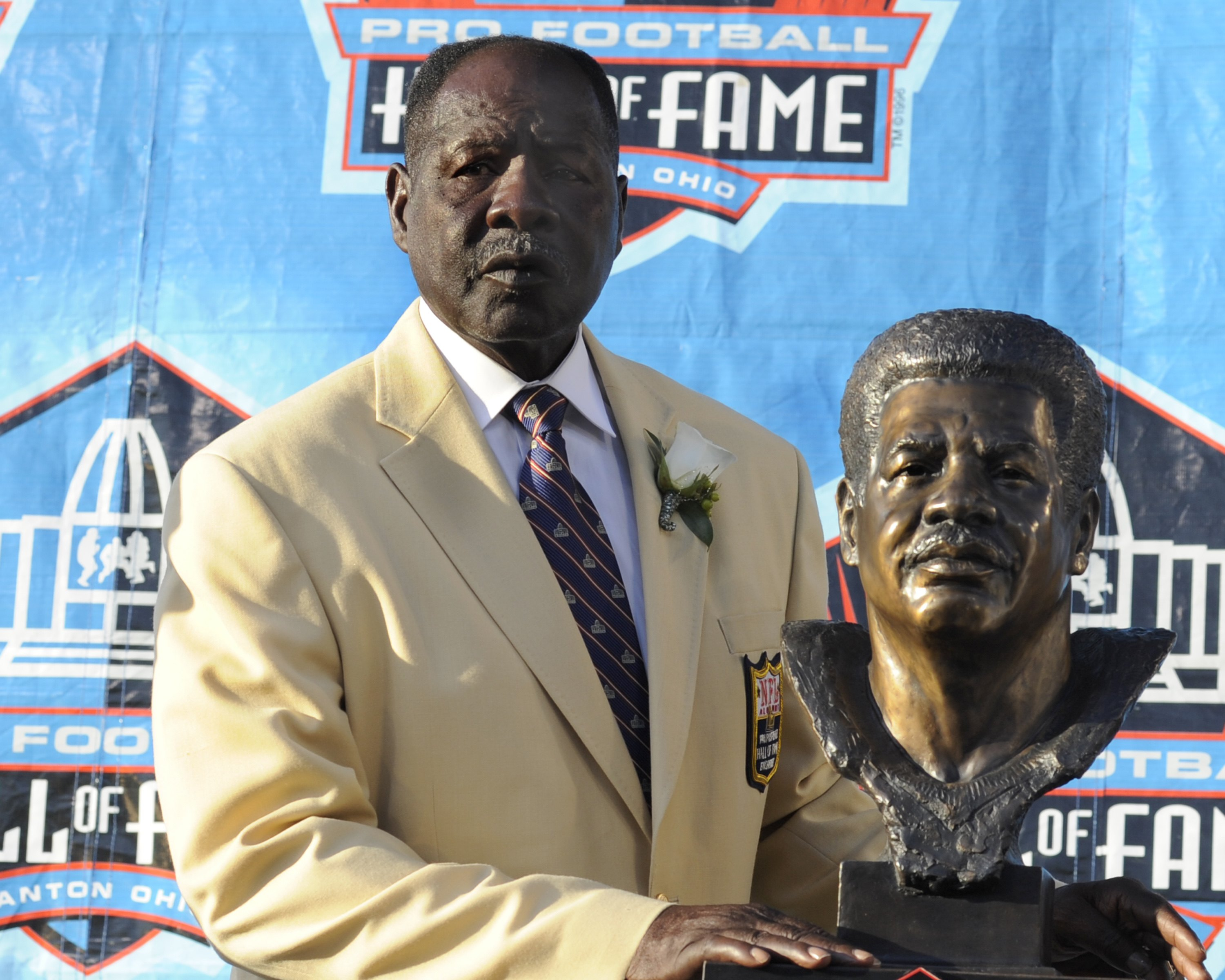 Emmitt Thomas Is Honored At The Hall of Fame