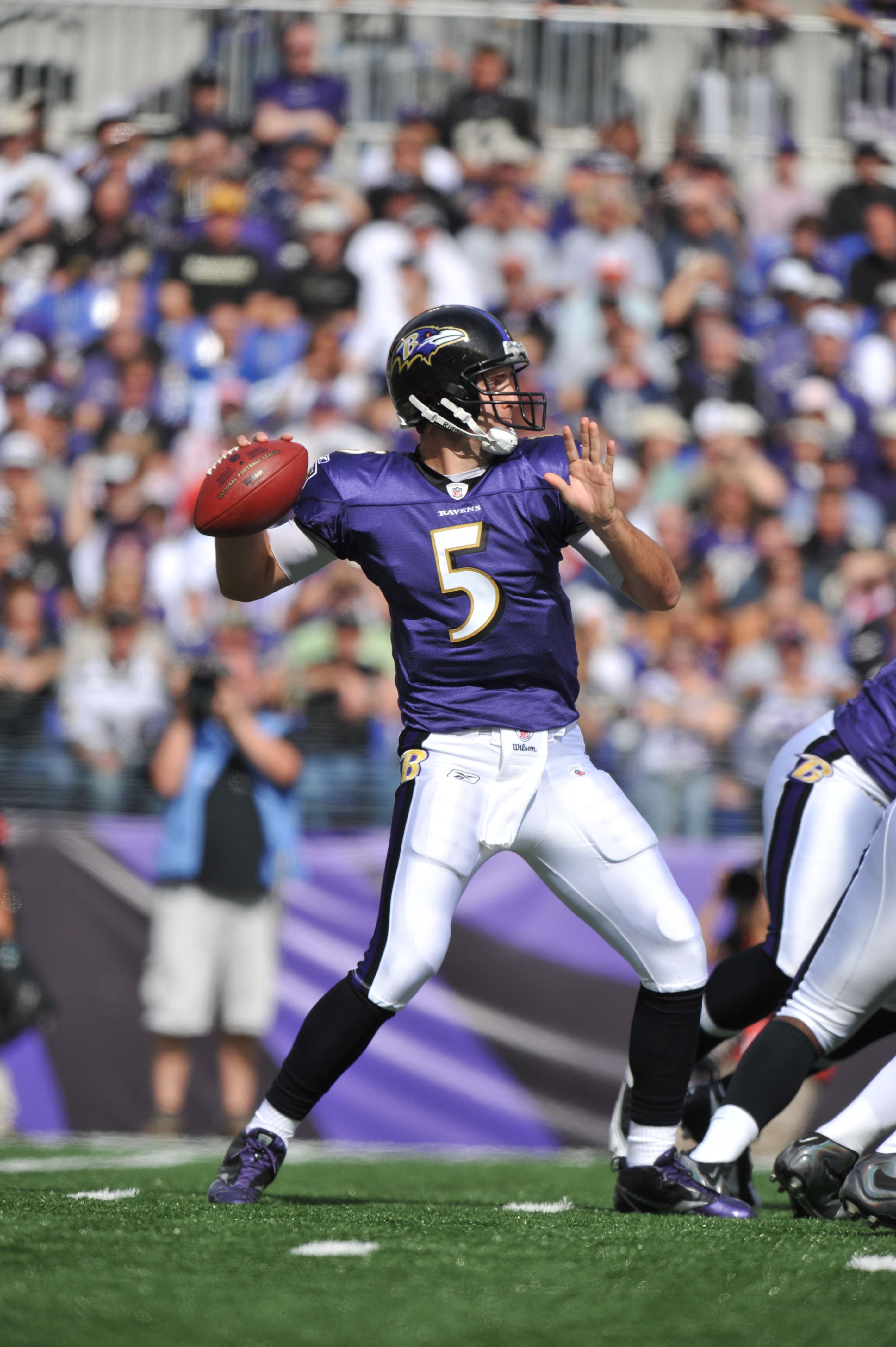 Flacco had a solid performance