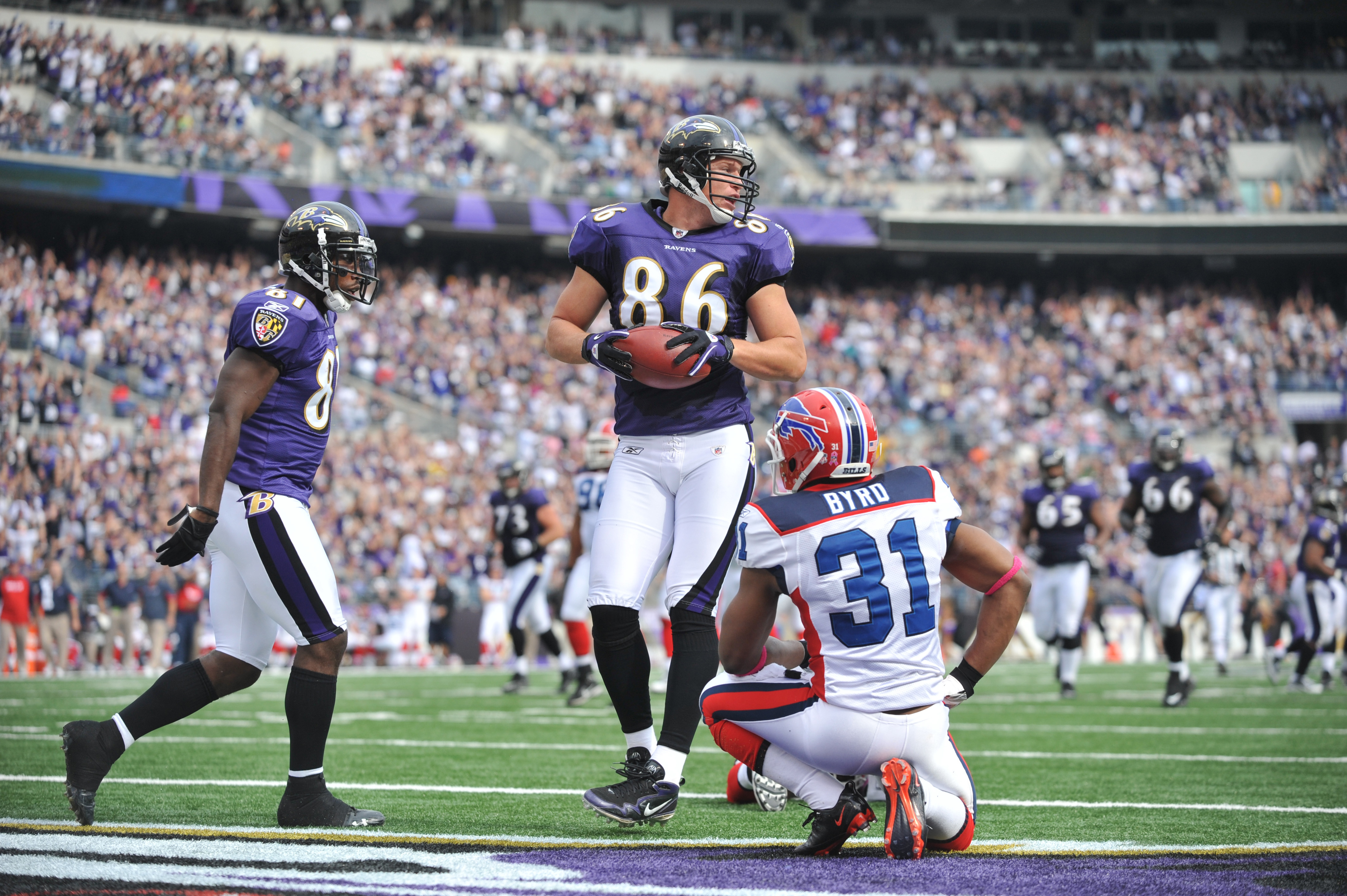Todd Heap had a great game