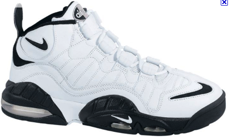 40729c4e8d07 Great shoe for big men. This was one of the kicks repped by Chris Webber  before he decided to wear those awful shiny Dada shoes and attempt to blind  Shaq at ...