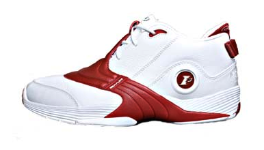 283a2fd48d90c5 A very low-cut Iverson signature shoe that had the classic Reebok styling.