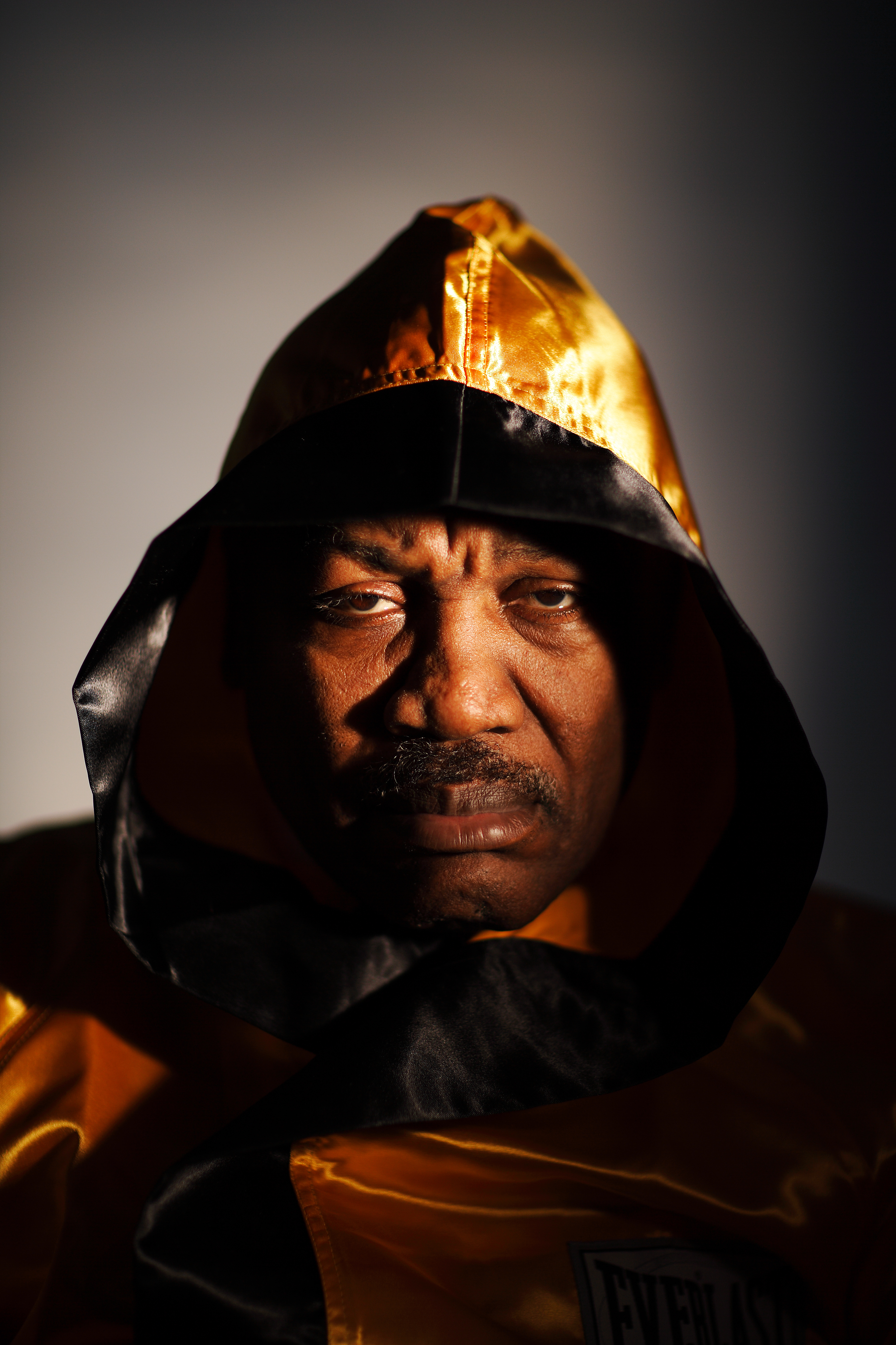 PHILADELPHIA - MARCH 18:  Joe Frazier, the former Heavyweight Champion of the World poses for a portrait at his boxing gym on March 18, 2009 in Philadelphia, Pennsylvania.  (Photo by Al Bello/Getty Images)