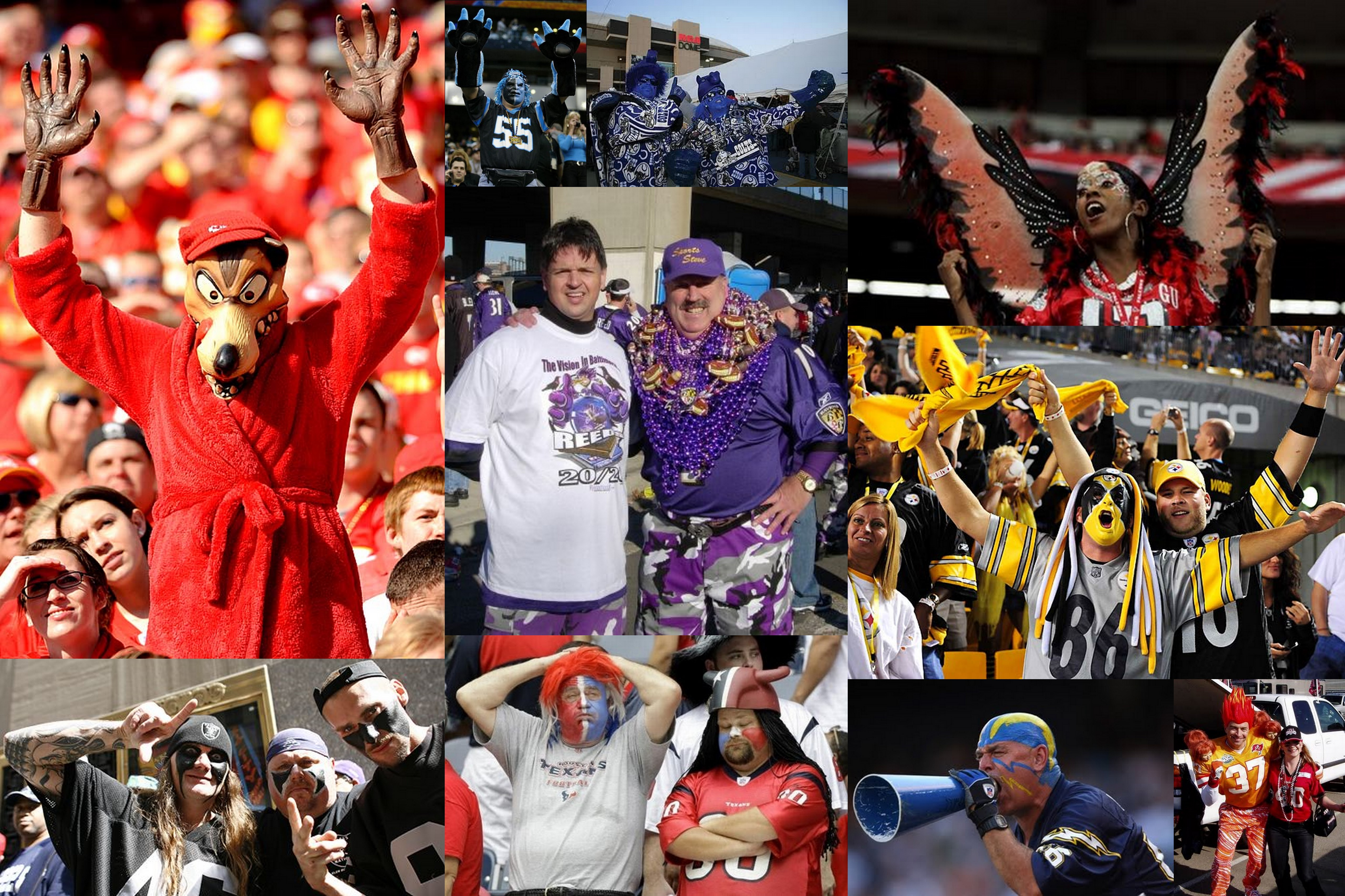Nfl Power Rankings Top 25 Nfl Halloween Fashions Around The