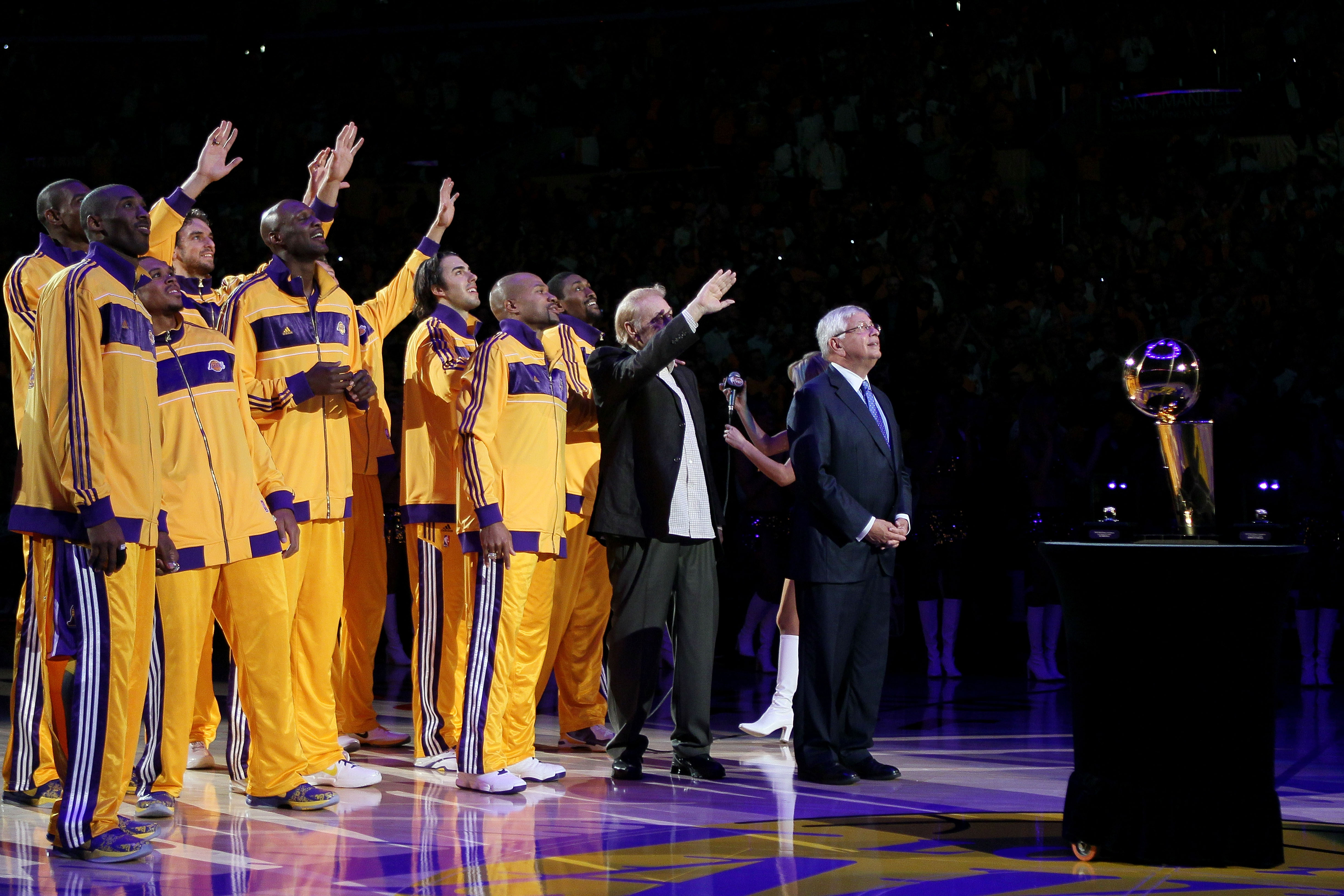 cf41c821214 NBA Power Rankings Week 1: Did Anyone Top the Los Angeles Lakers or ...