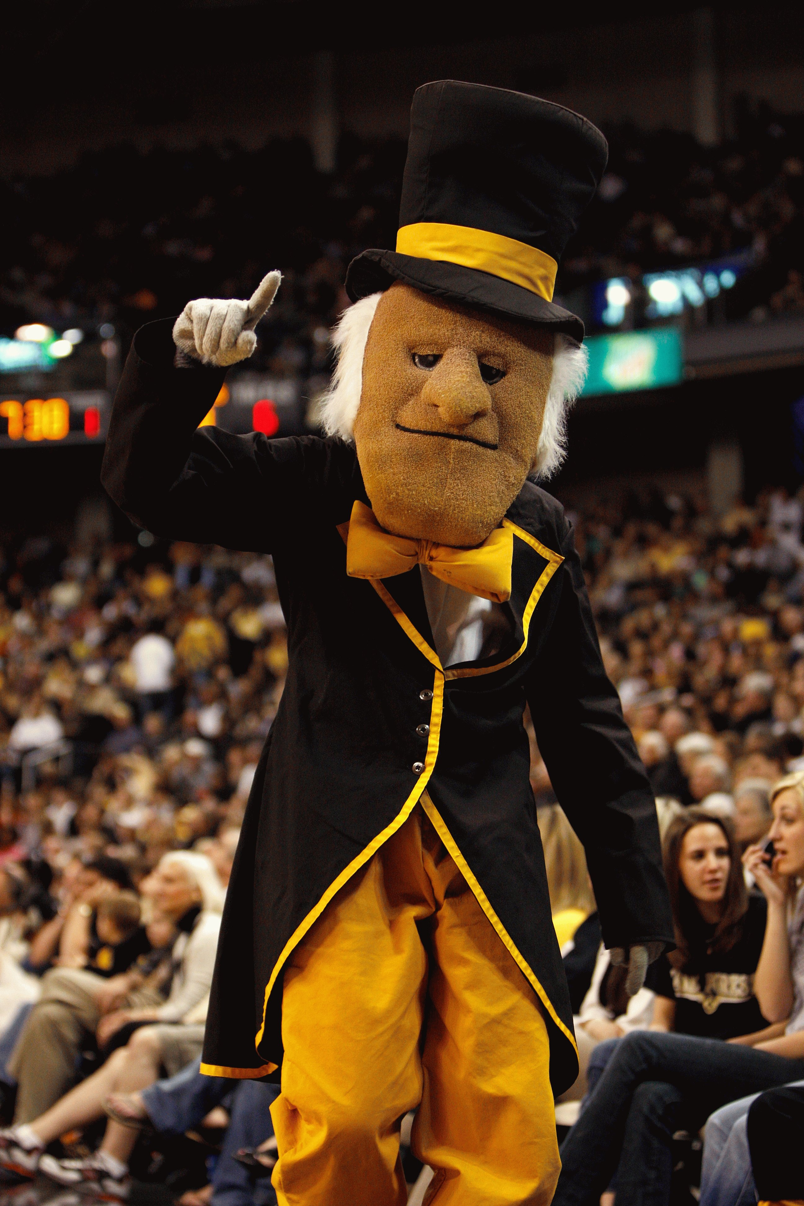the 50 best mascots in college football bleacher report