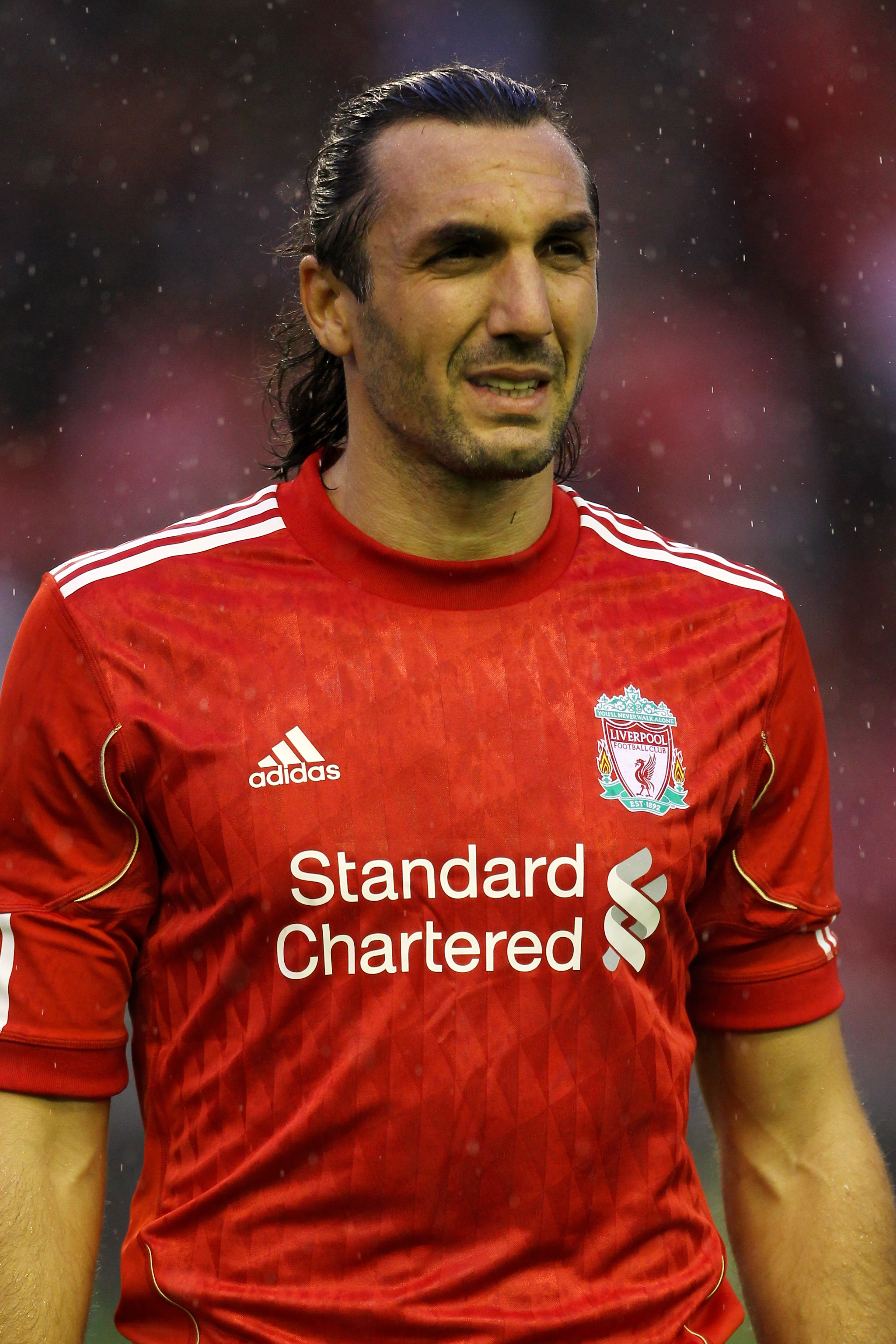 The giant Greek was Liverpool's best defender again today
