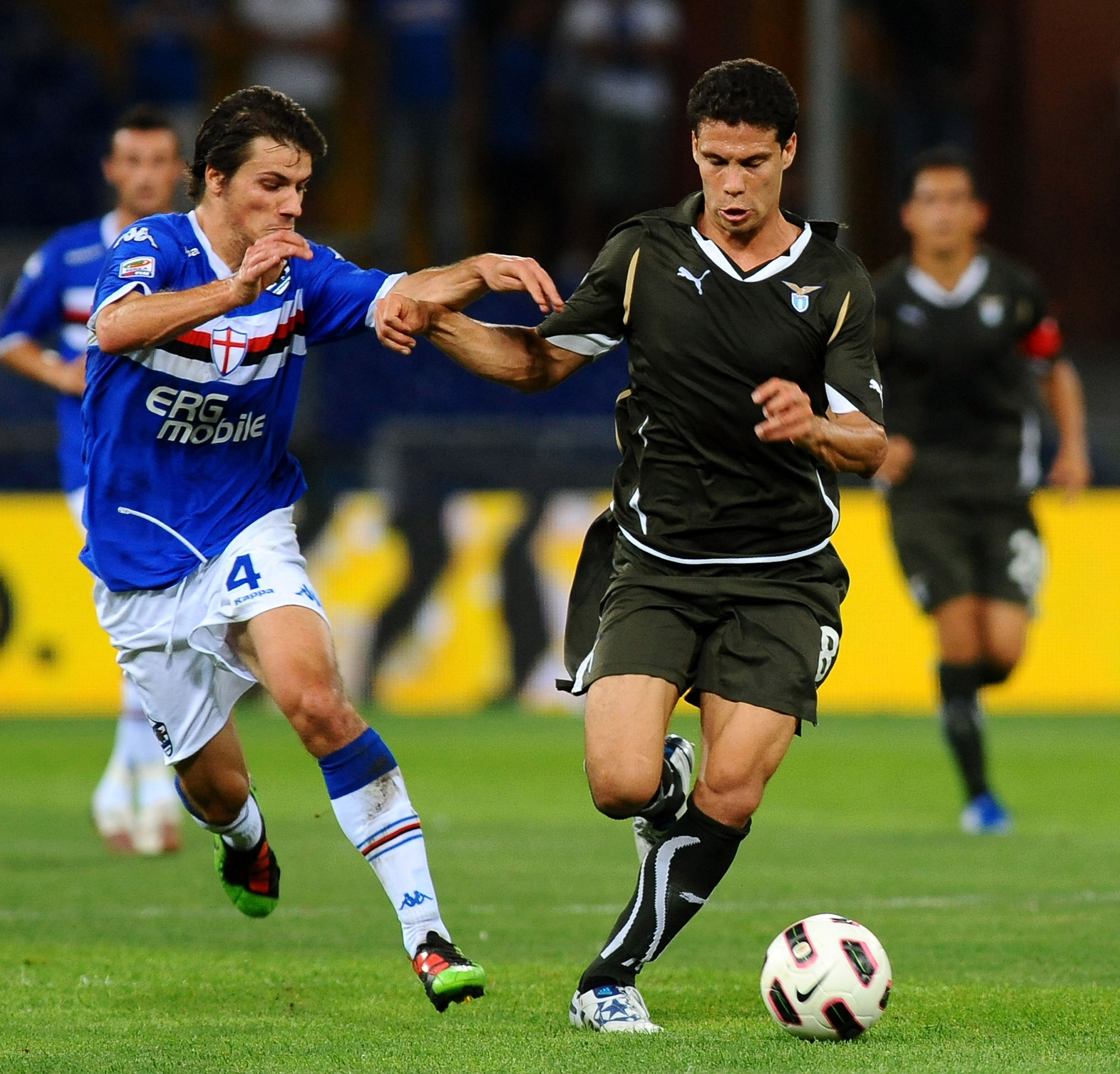 Dessena has moved around and is currently with Sampdoria.