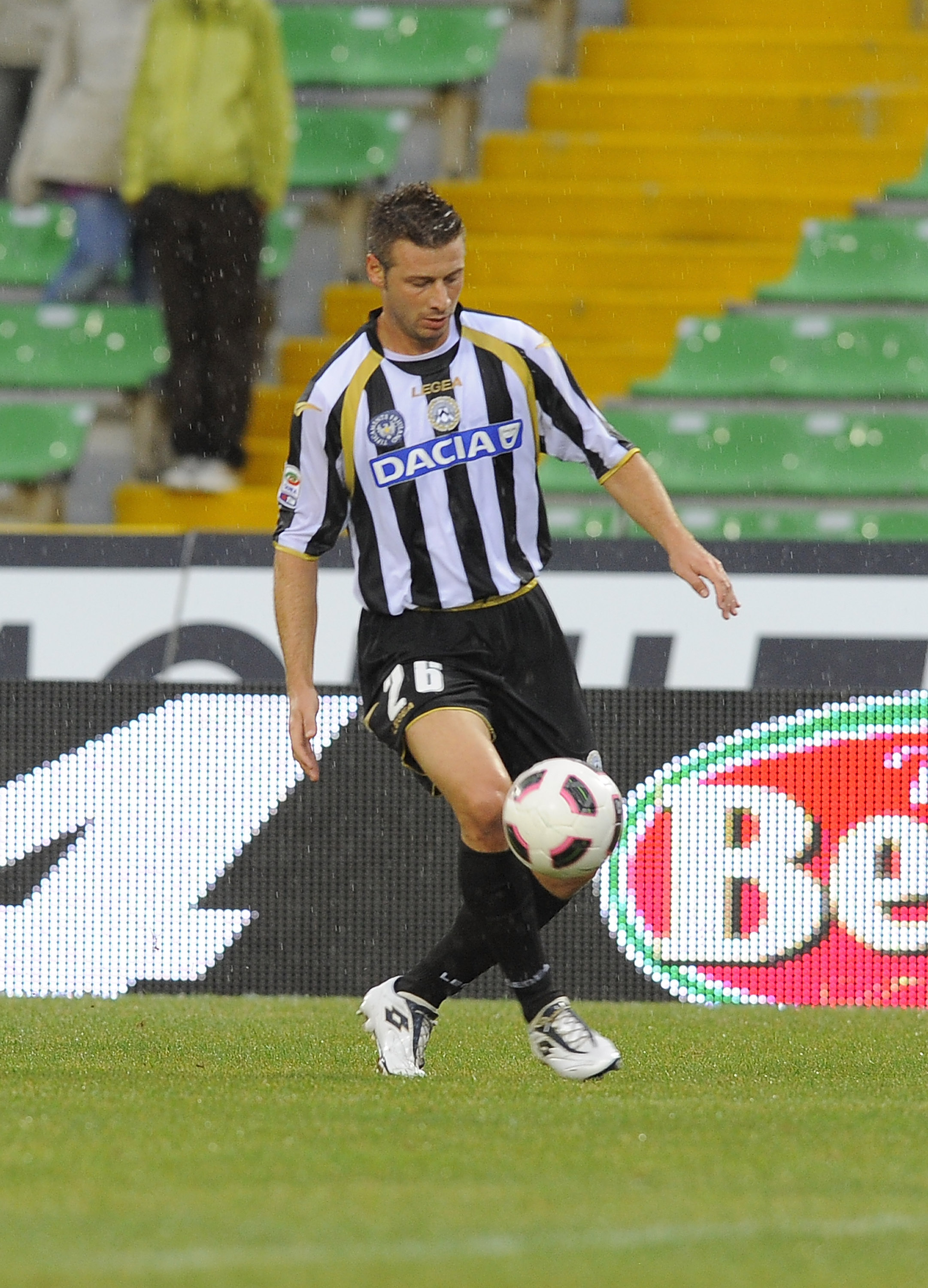 Pasquale grew up with Inter and now plays left back for Udinese.