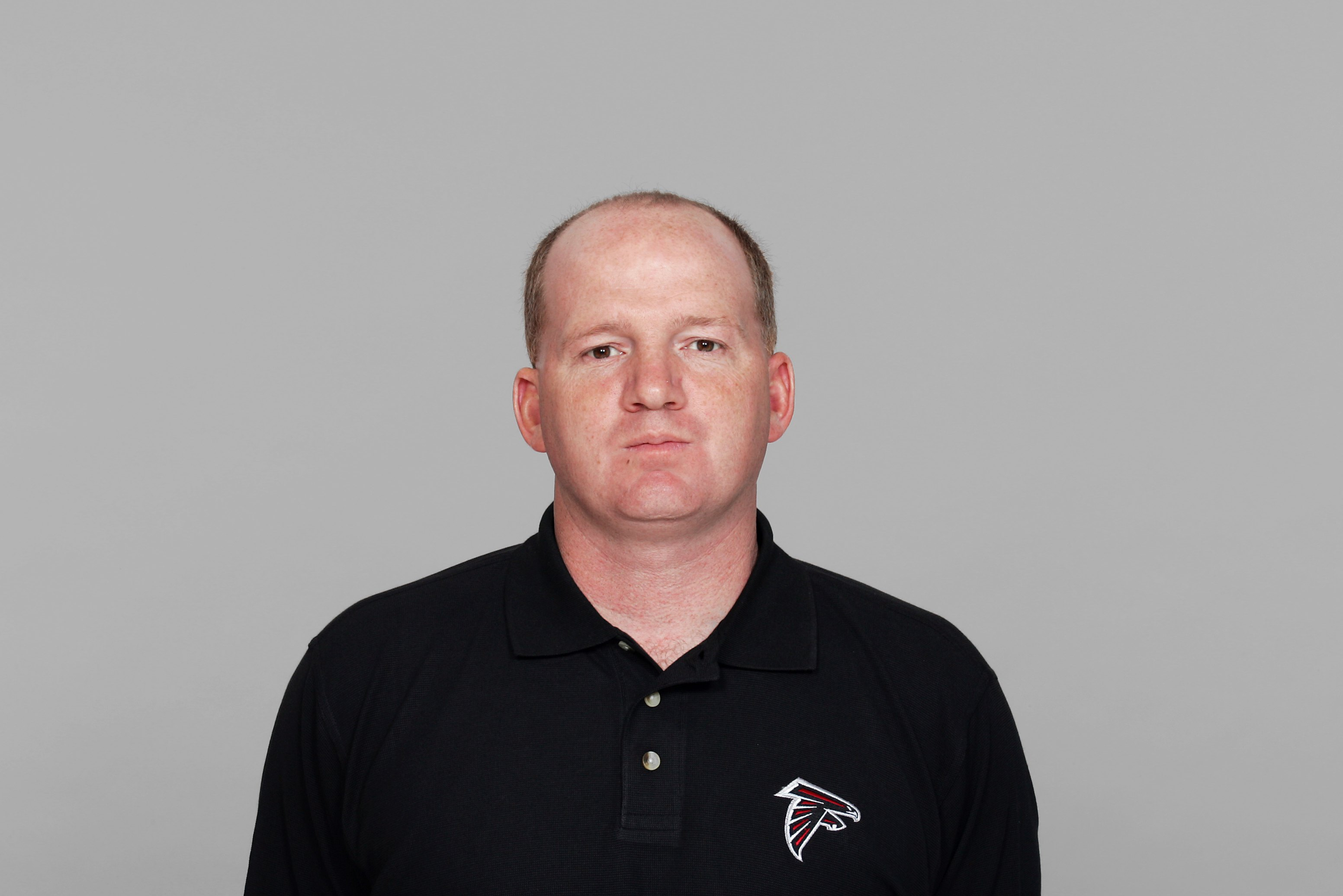 ATLANTA - 2007:  Paul Petrino of the Atlanta Falcons poses for his 2007 NFL headshot at photo day in Atlanta, Georgia.  (Photo by Getty Images)