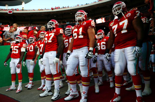 The Chiefs offensive line is much better than in recent years.