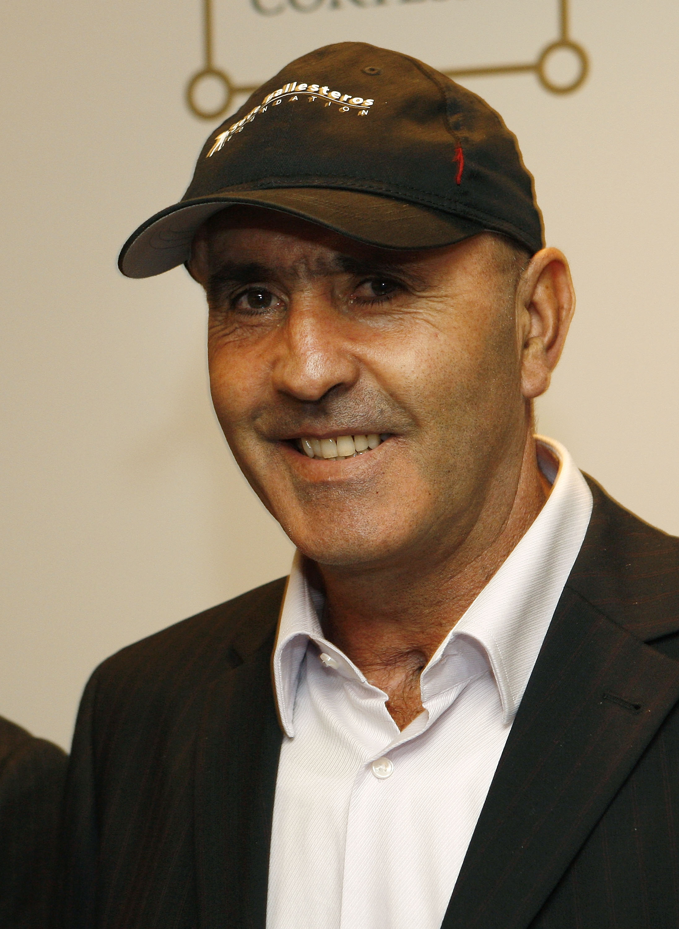 MADRID, SPAIN - OCTOBER 14: Seve Ballesteros of Spain smiles during the press conference of the Volvo World Match Play Championship 2009 presentation at Intercontinental Hotel on October 14, 2009 in Madrid, Spain. Ballesteros, who is recovering from cance