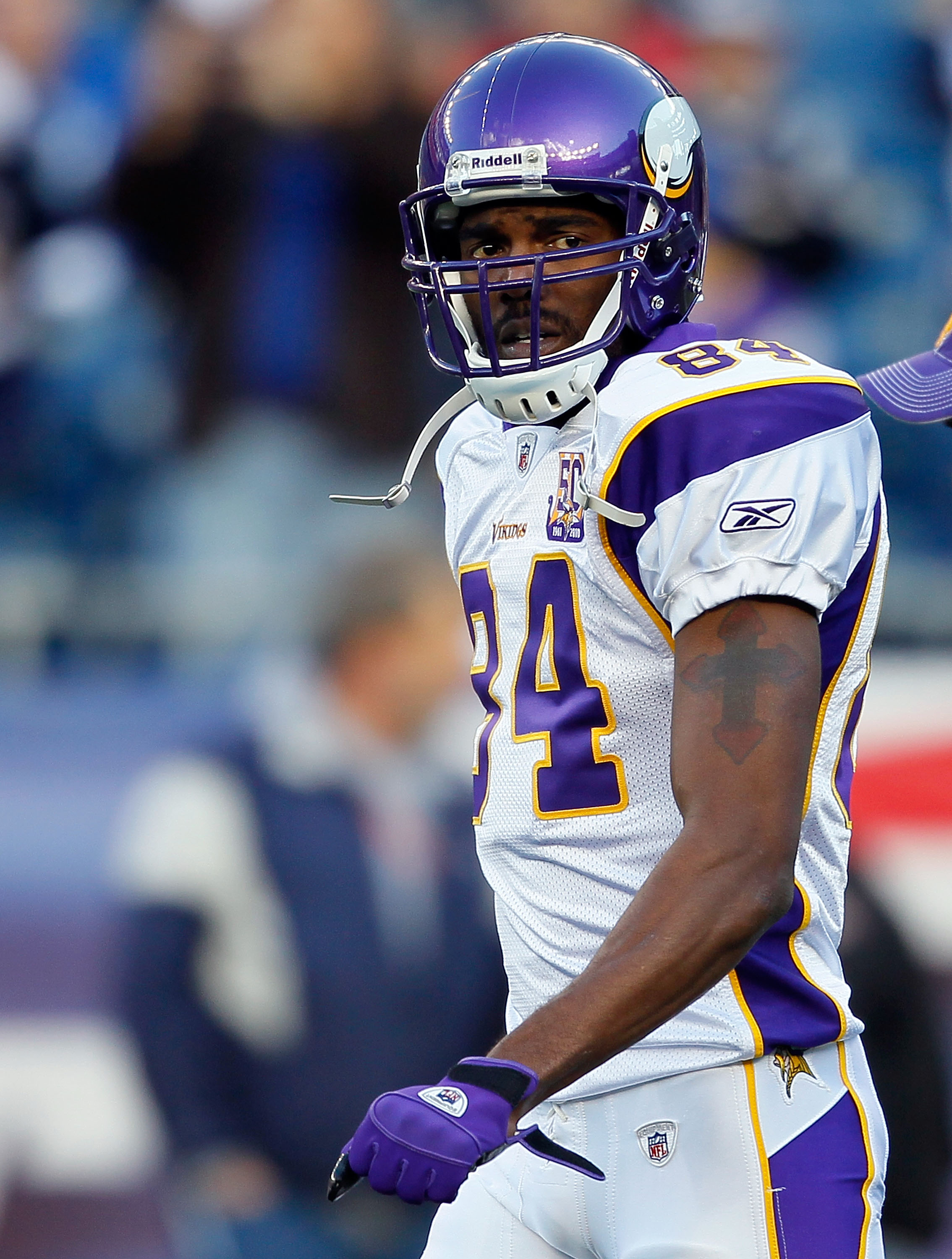After his release from Minnesota, Randy Moss looks to join his fourth career NFL team, and his third this year.
