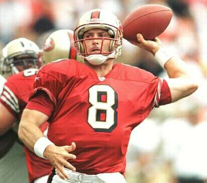 976c362cc78 The San Francisco 49ers have been blessed to have had one Hall of Fame  quarterback in Young