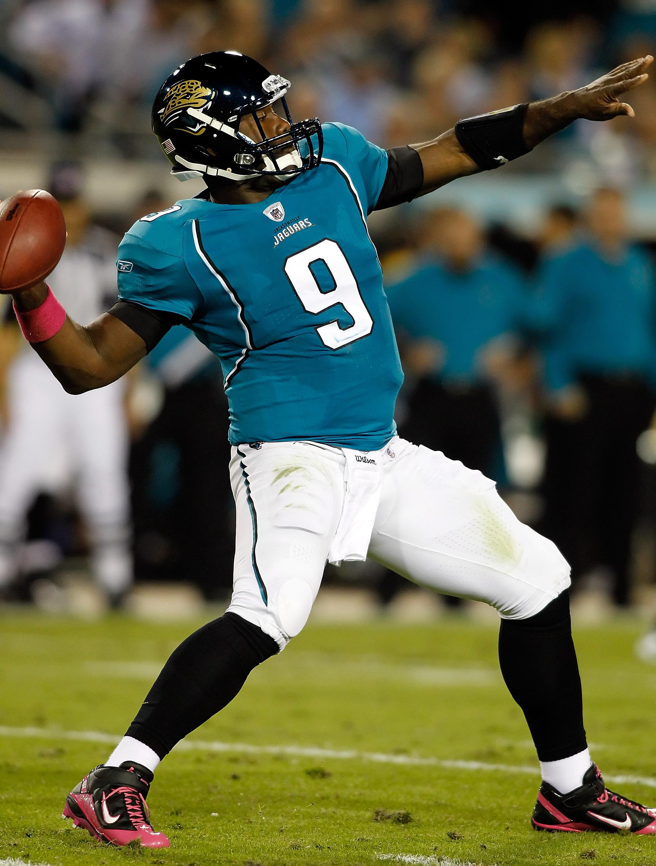 David Garrard has the same total number of touchdowns as Peyton Manning