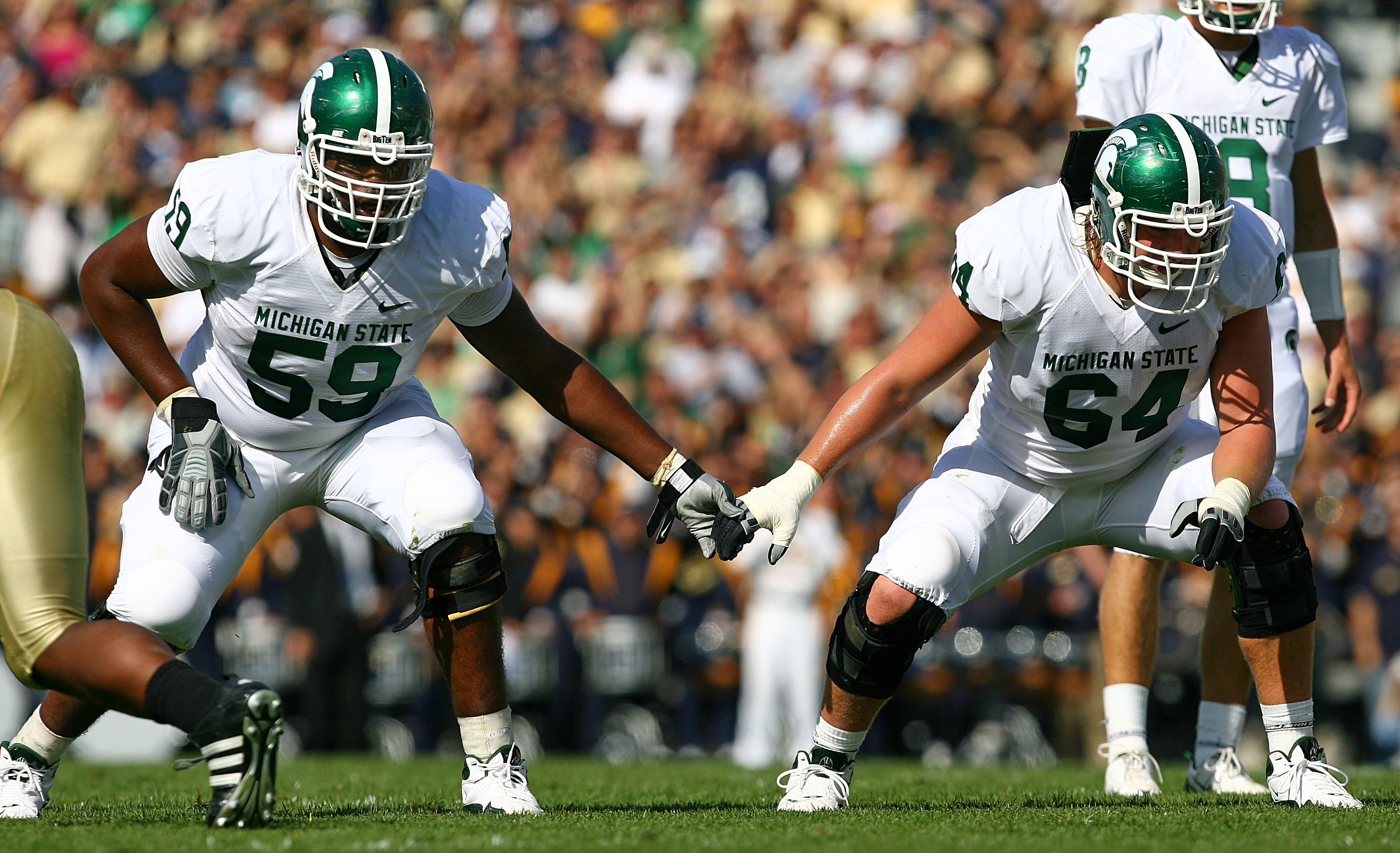 Michigan State OT D.J. Young