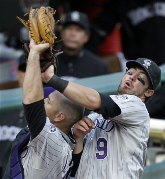When it came down to the final stretch, the Rockies just couldn't close the gap.