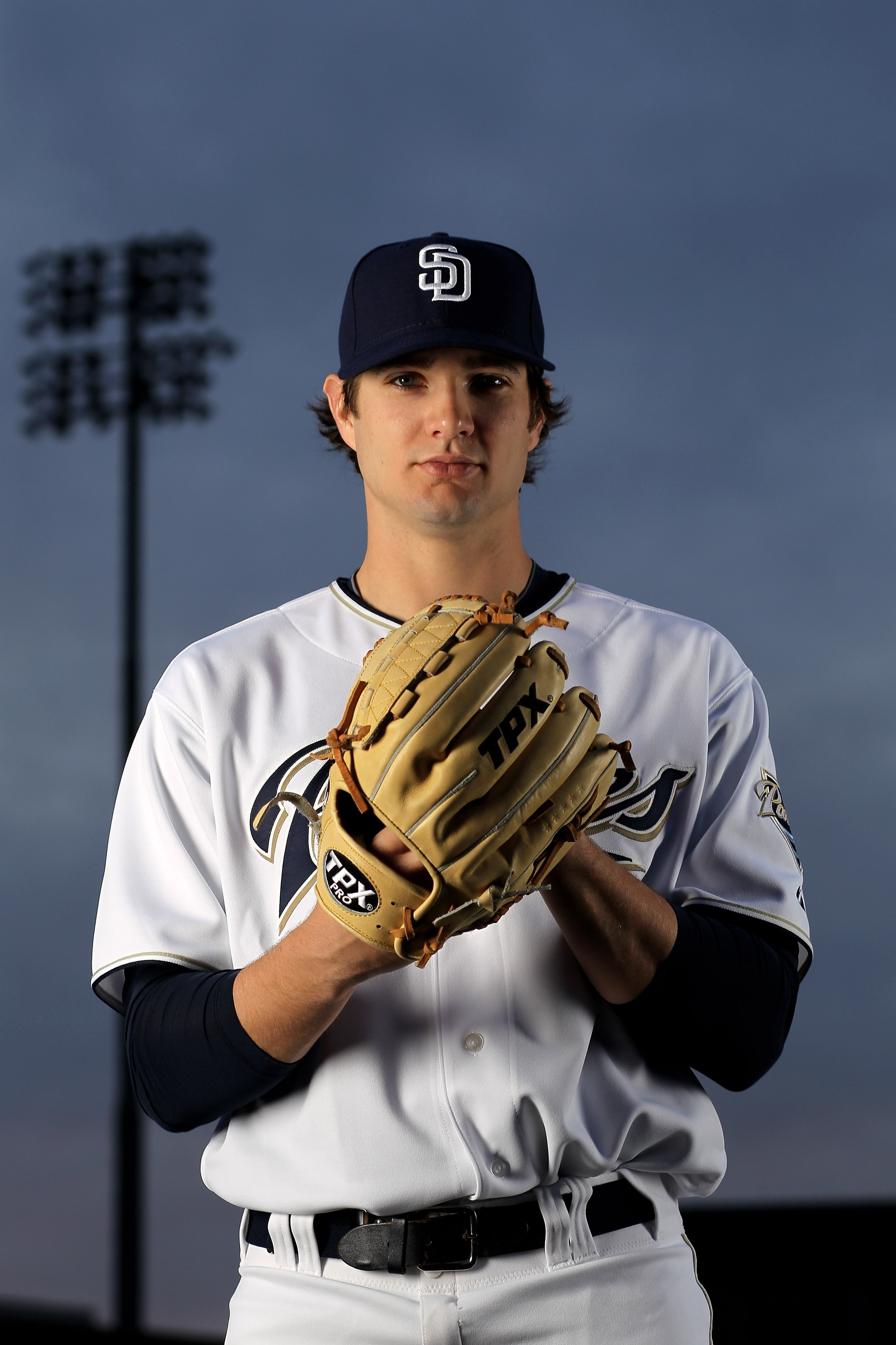 PEORIA, AZ - FEBRUARY 27:  Cory Luebke of the San Diego Padres poses during photo media day at the Padres spring training complex on February 27, 2010 in Peoria, Arizona.  (Photo by Ezra Shaw/Getty Images)